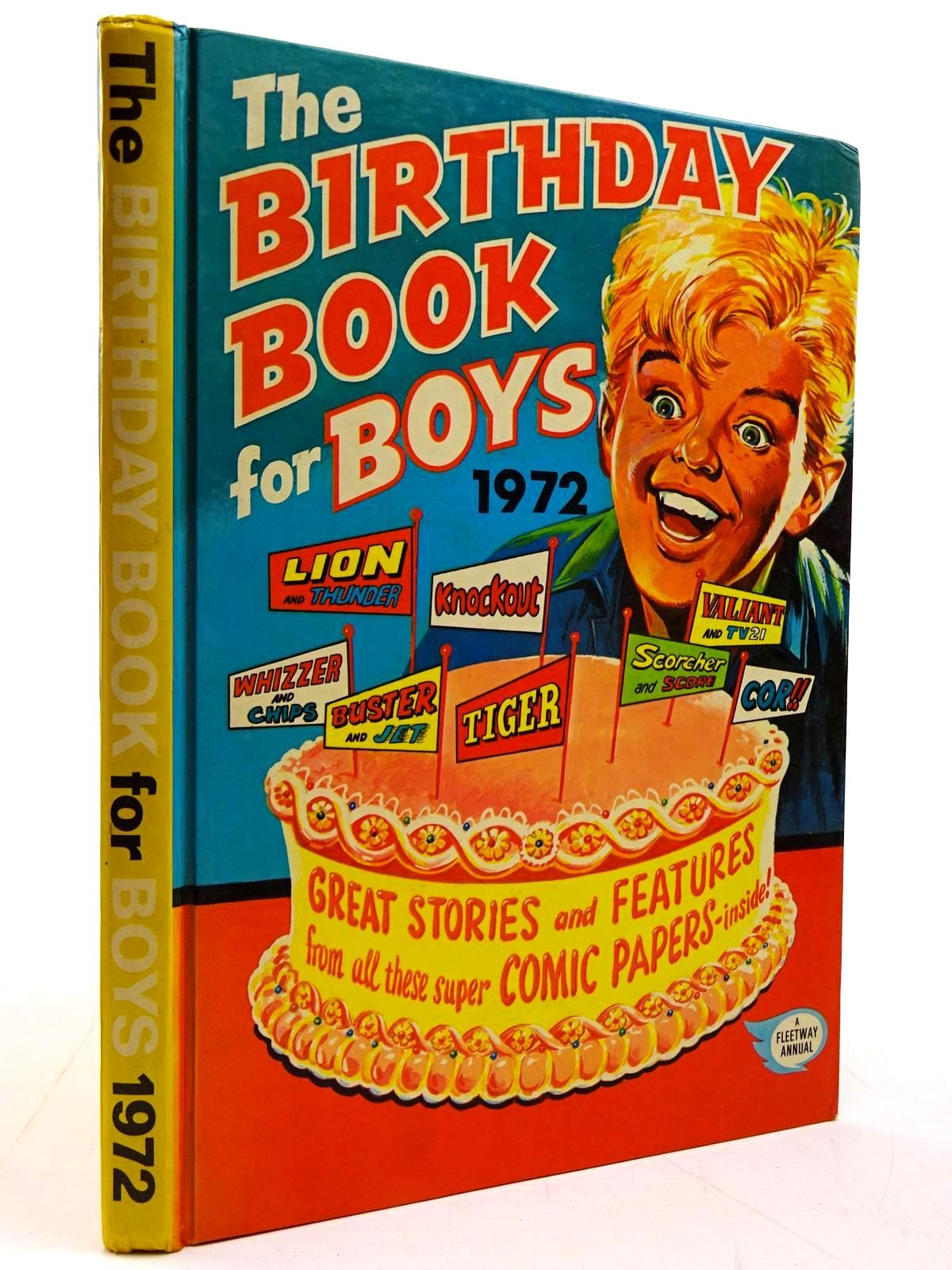 Photo of THE BIRTHDAY BOOK FOR BOYS 1972- Stock Number: 2130826