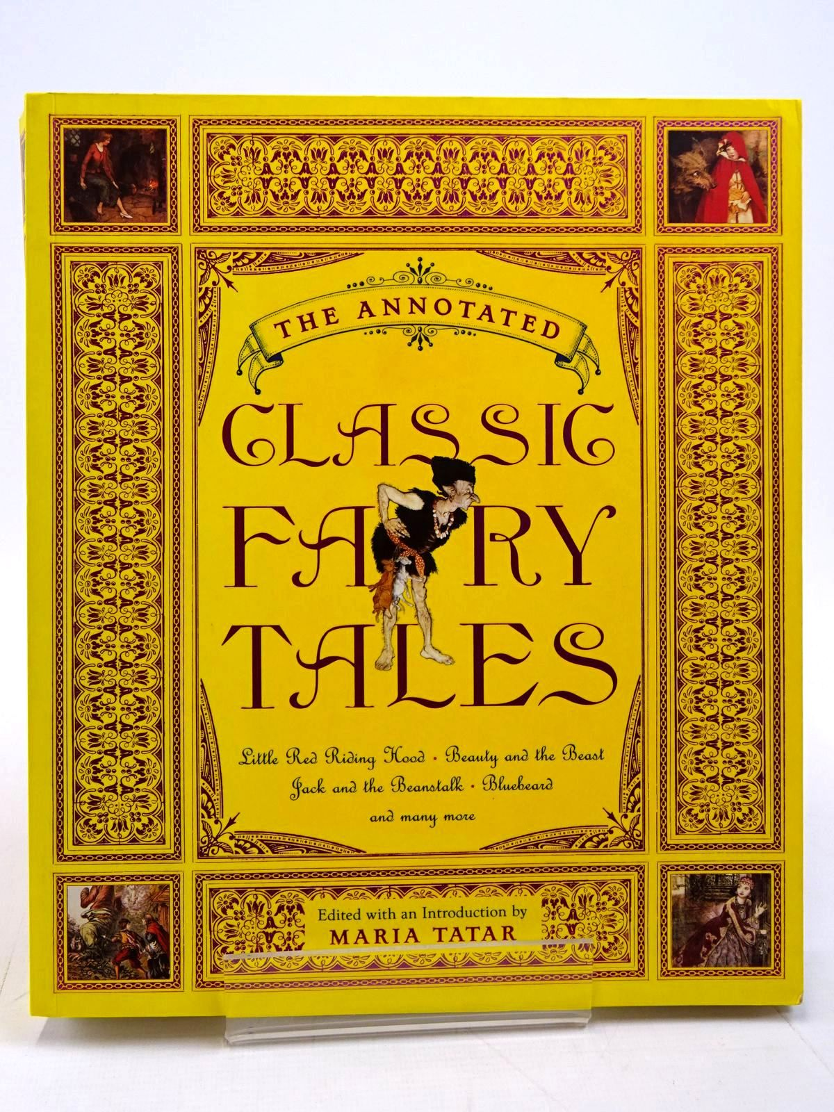 Photo of THE ANNOTATED CLASSIC FAIRY TALES written by Tatar, Maria illustrated by Rackham, Arthur Dulac, Edmund Nielsen, Kay et al.,  published by Book Club Associates, W.W. Norton & Company Inc. (STOCK CODE: 2130862)  for sale by Stella & Rose's Books