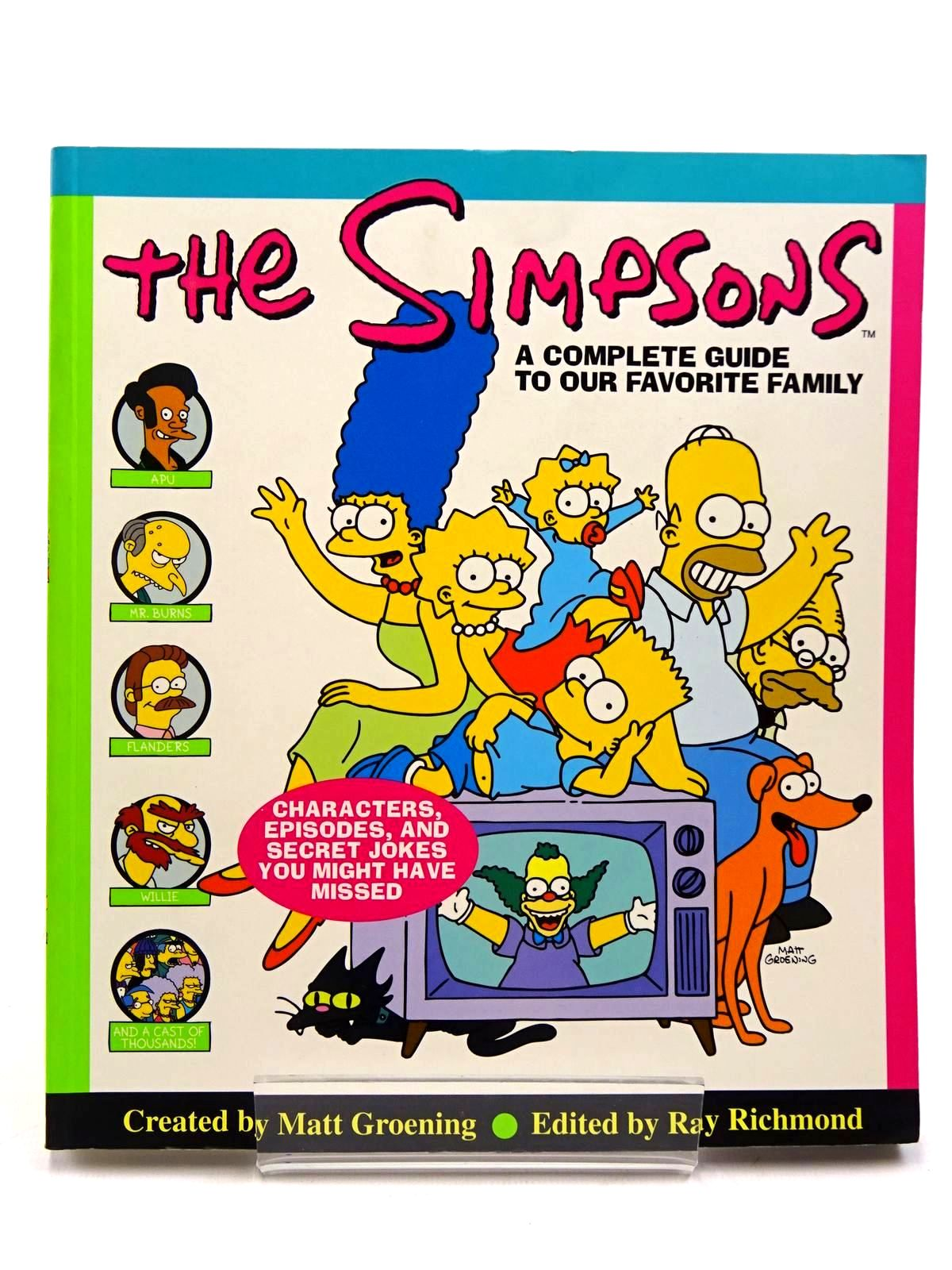 Photo of THE SIMPSONS A COMPLETE GUIDE TO OUR FAVORITE FAMILY written by Groening, Matt