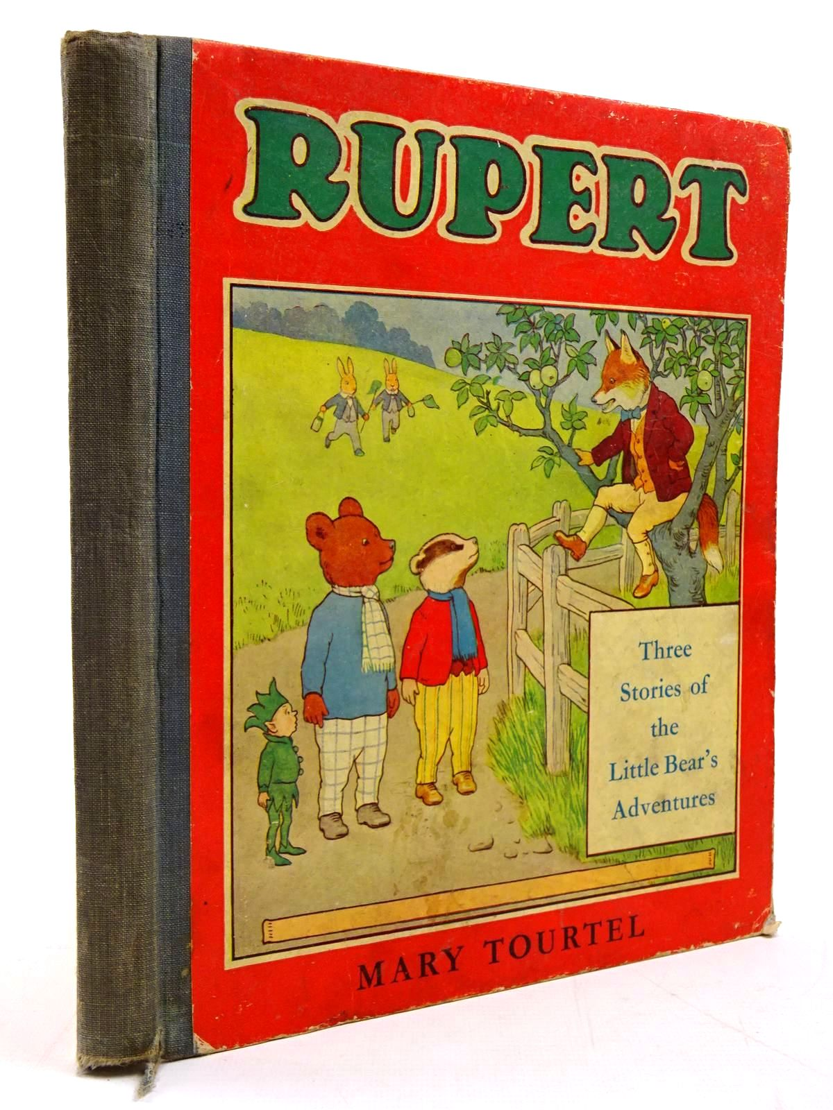 Photo of RUPERT THREE STORIES OF THE LITTLE BEAR'S ADVENTURES- Stock Number: 2130865