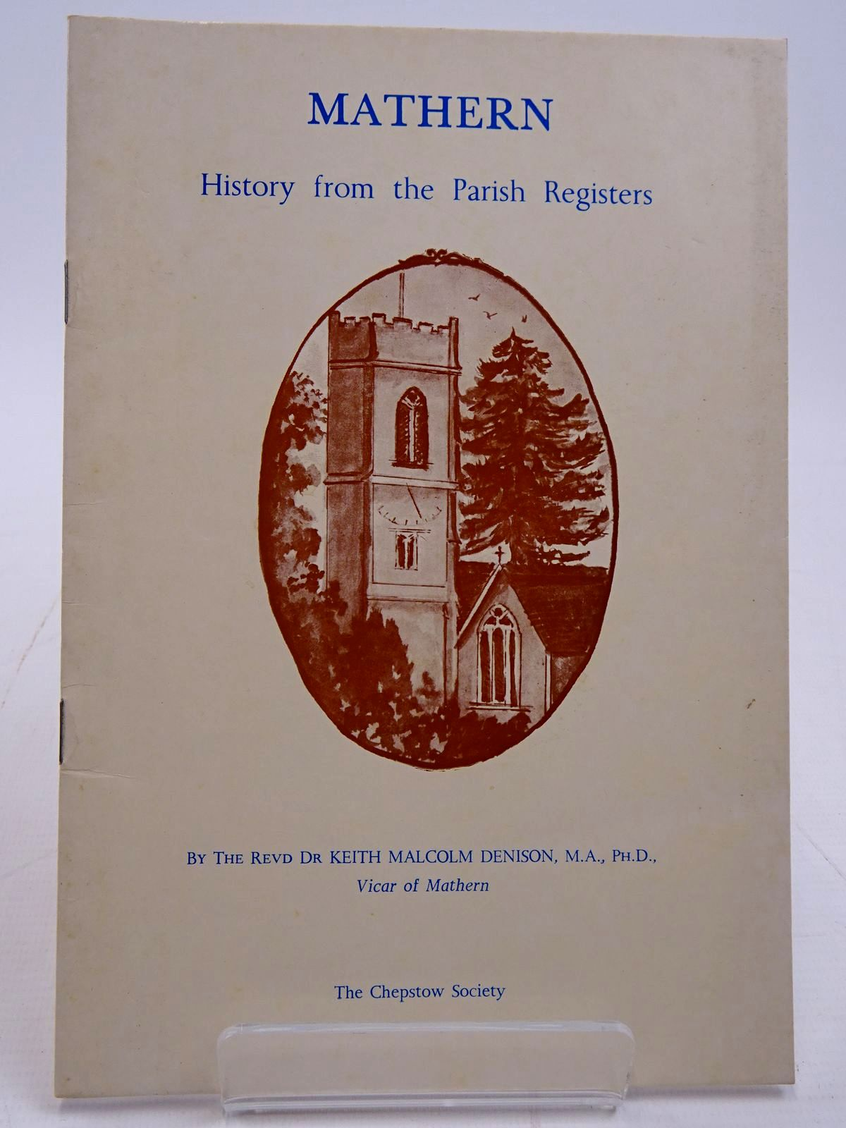 Photo of MATHERN HISTORY FROM THE PARISH REGISTERS- Stock Number: 2130907