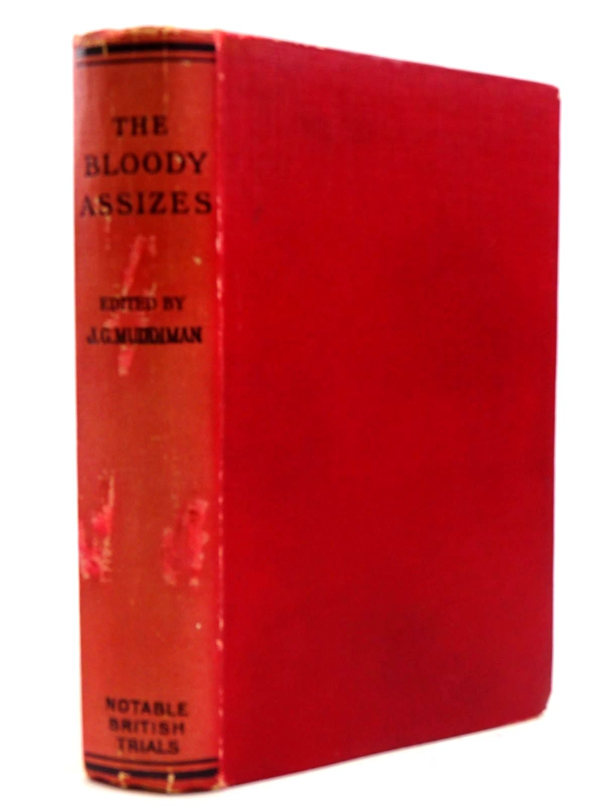 Photo of THE BLOODY ASSIZES written by Muddiman, J.G. published by William Hodge and Company Limited (STOCK CODE: 2130910)  for sale by Stella & Rose's Books
