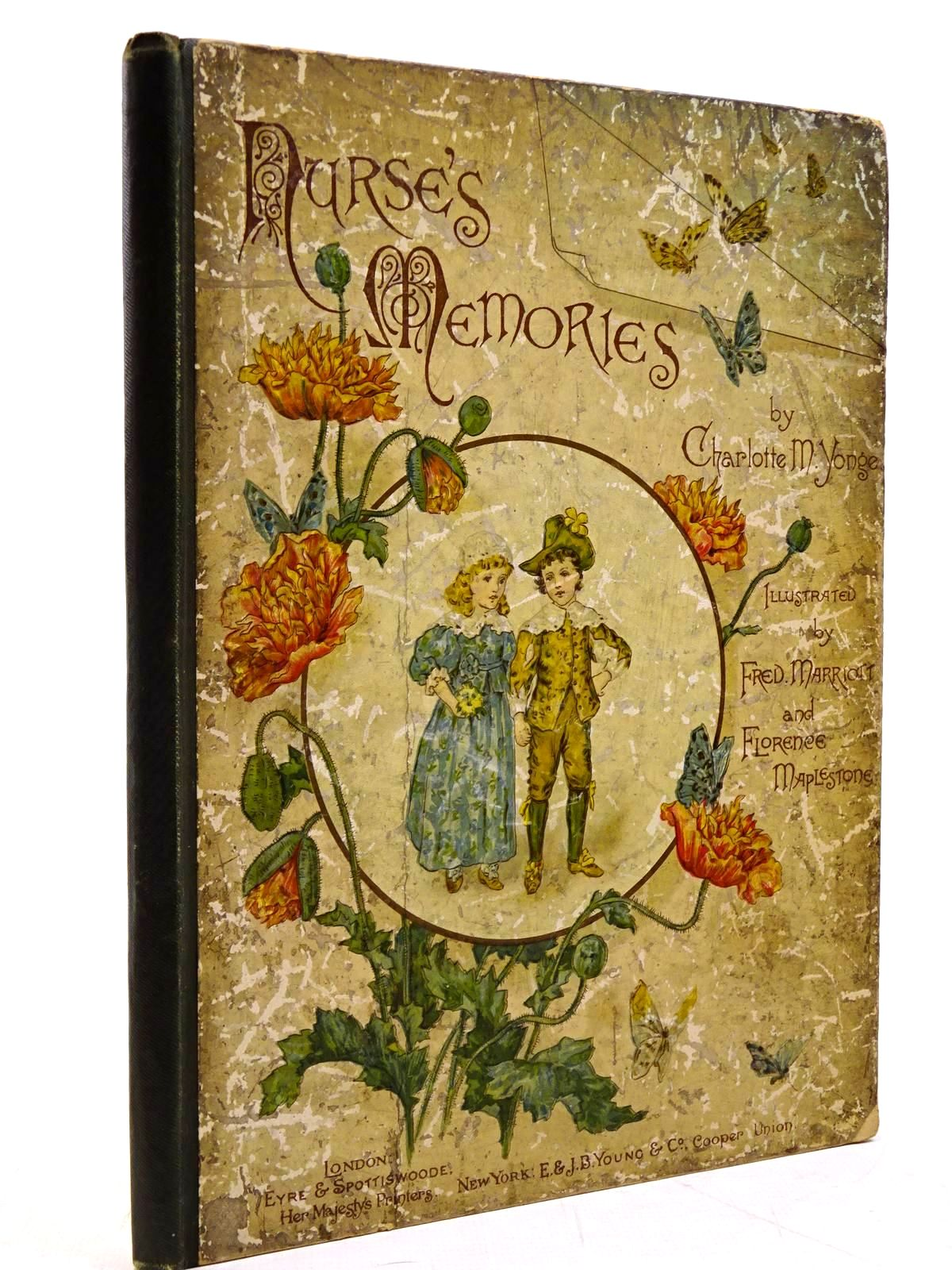 Photo of NURSE'S MEMORIES written by Yonge, Charlotte M. illustrated by Marriott, Fred<br />Maplestone, Florence published by Eyre &amp; Spottiswoode (STOCK CODE: 2130936)  for sale by Stella & Rose's Books