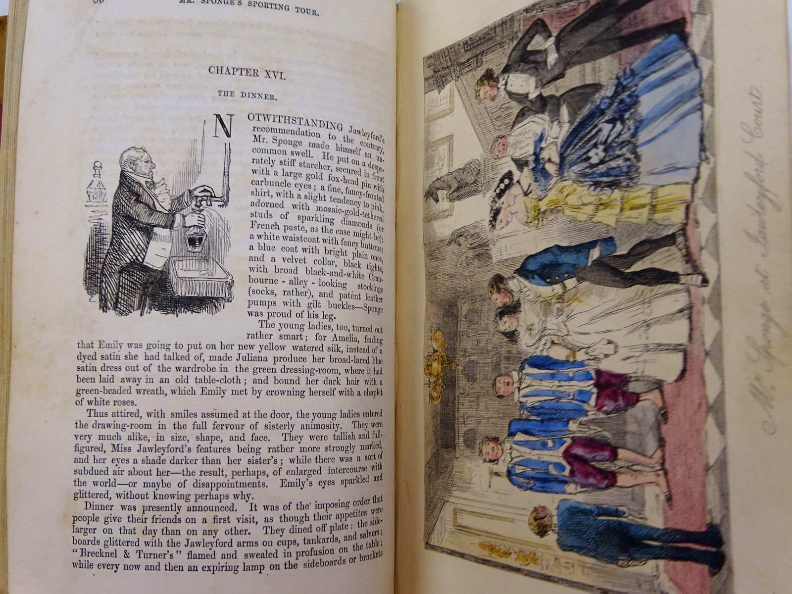 Photo of MR. SPONGE'S SPORTING TOUR written by Surtees, R.S. illustrated by Leech, John published by Bradbury & Evans (STOCK CODE: 2130945)  for sale by Stella & Rose's Books