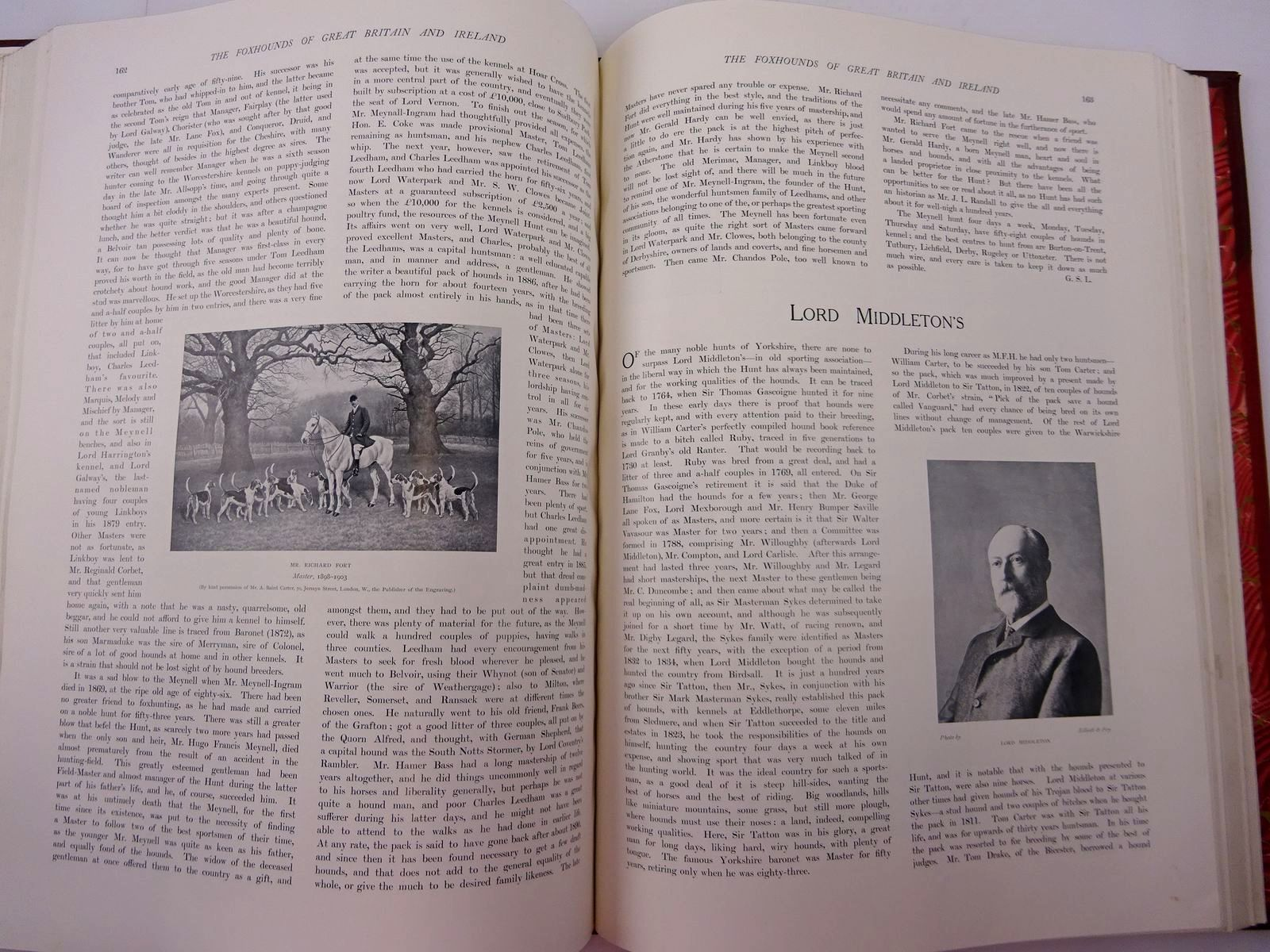 Photo of THE FOXHOUNDS OF GREAT BRITAIN AND IRELAND THEIR MASTERS AND HUNTSMEN written by De Trafford, Humphrey F. et al, illustrated by Bradley, Cuthbert et al., published by Walter Southwood & Company (STOCK CODE: 2130948)  for sale by Stella & Rose's Books