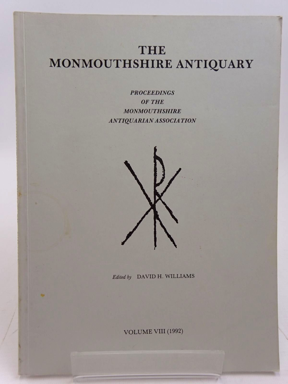 Photo of THE MONMOUTHSHIRE ANTIQUARY VOLUME VIII written by Williams, David H. published by Monmouthshire Antiquarian Association (STOCK CODE: 2130969)  for sale by Stella & Rose's Books