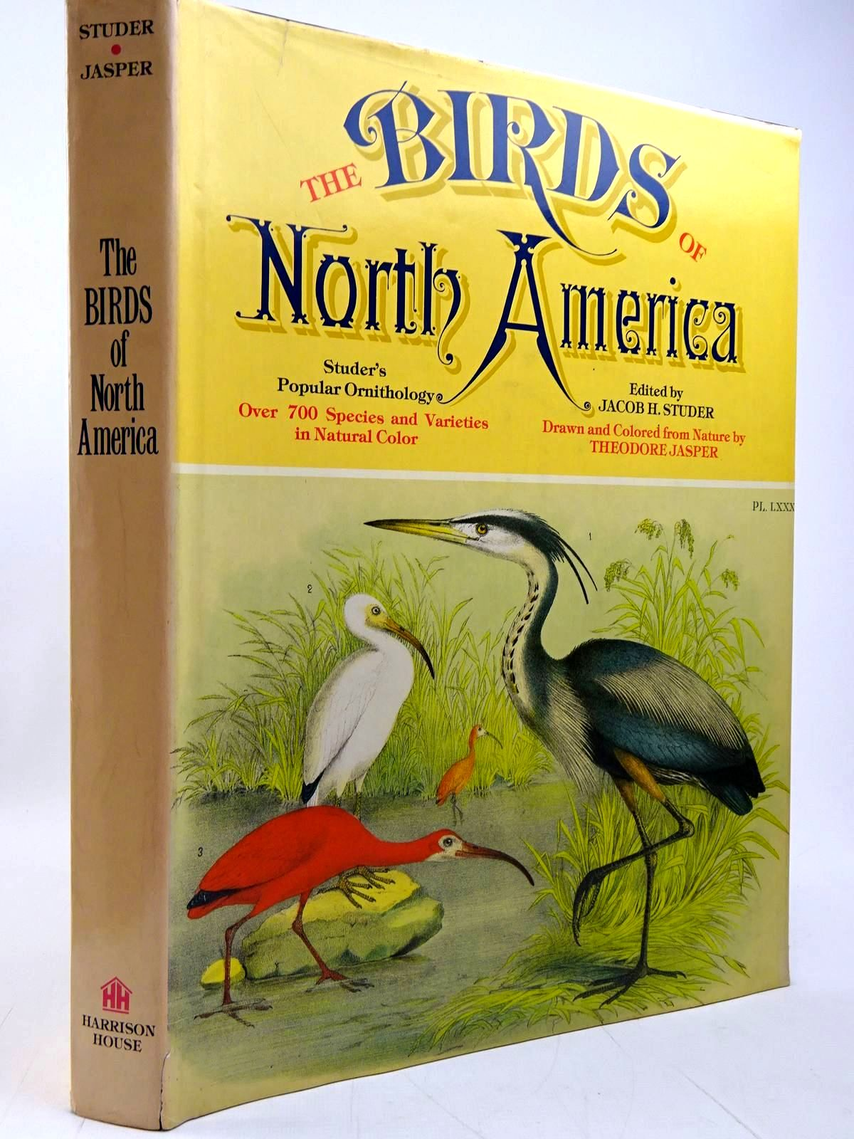 Photo of THE BIRDS OF NORTH AMERICA written by Studer, Jacob H. illustrated by Jasper, Theodore published by Harrison House (STOCK CODE: 2131003)  for sale by Stella & Rose's Books