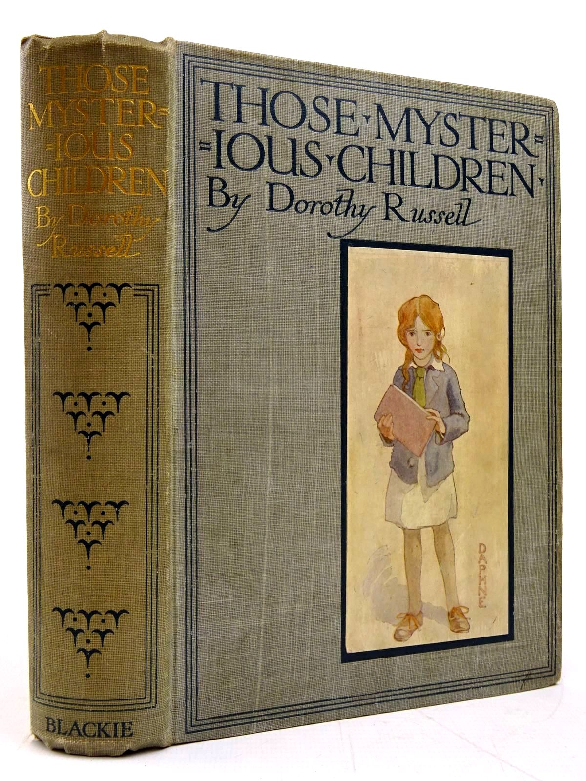Photo of THOSE MYSTERIOUS CHILDREN written by Russell, Dorothy illustrated by Appleton, Honor C. published by Blackie & Son Ltd. (STOCK CODE: 2131017)  for sale by Stella & Rose's Books