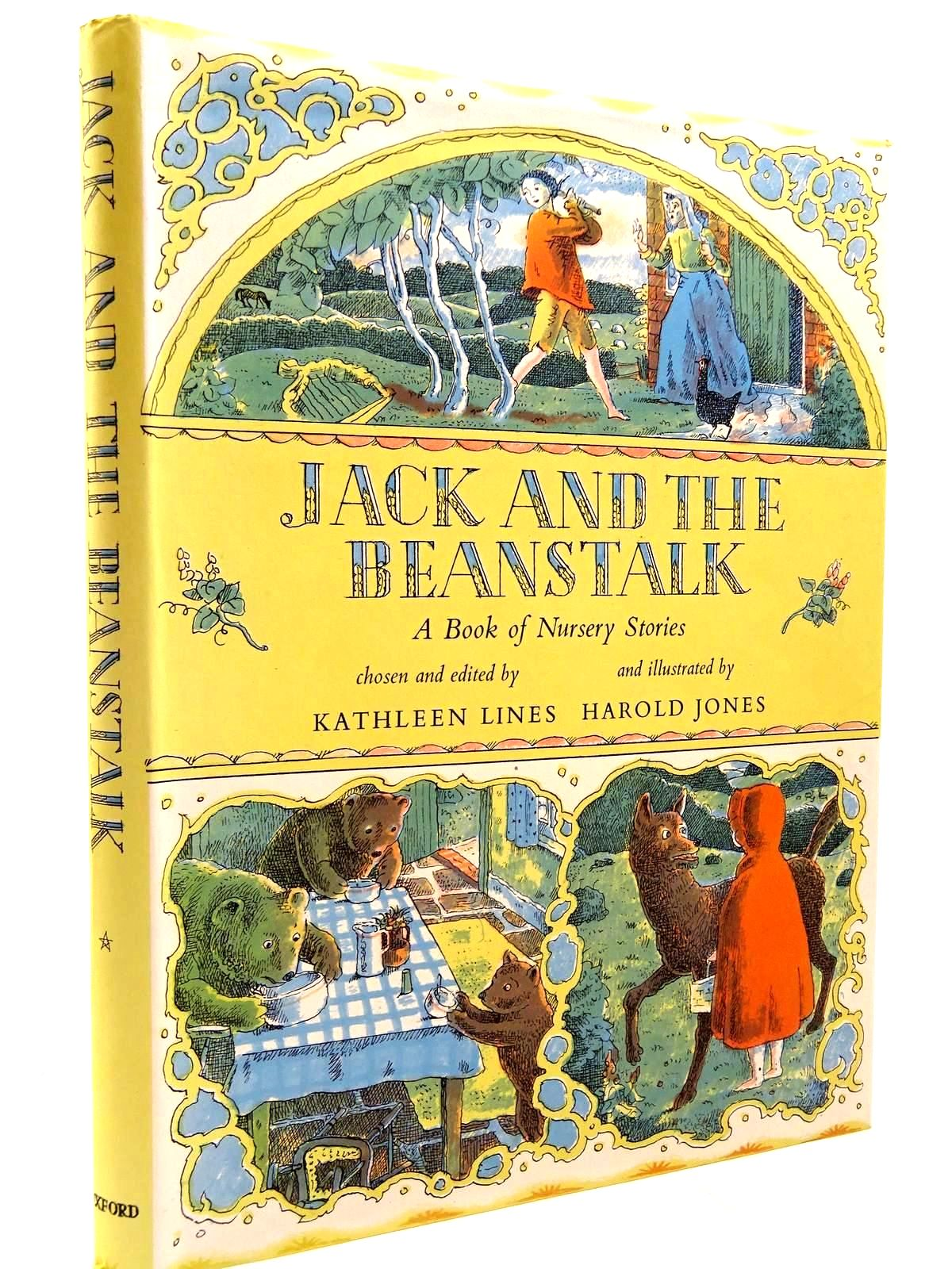 Photo of JACK AND THE BEANSTALK written by Lines, Kathleen illustrated by Jones, Harold published by Oxford University Press (STOCK CODE: 2131035)  for sale by Stella & Rose's Books