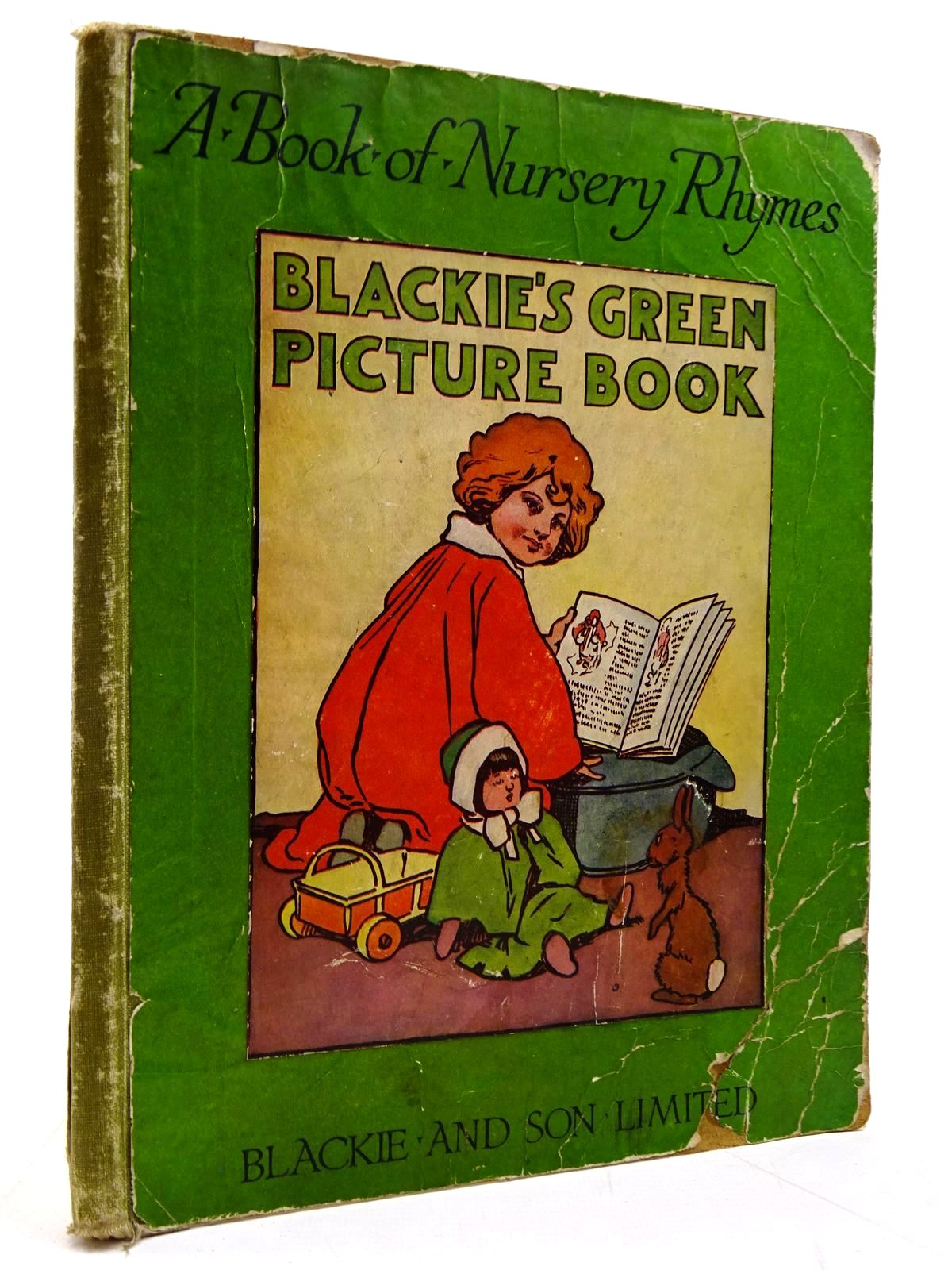 Photo of BLACKIE'S GREEN PICTURE-BOOK OF NURSERY RHYMES illustrated by Hassall, John published by Blackie & Son Ltd. (STOCK CODE: 2131040)  for sale by Stella & Rose's Books