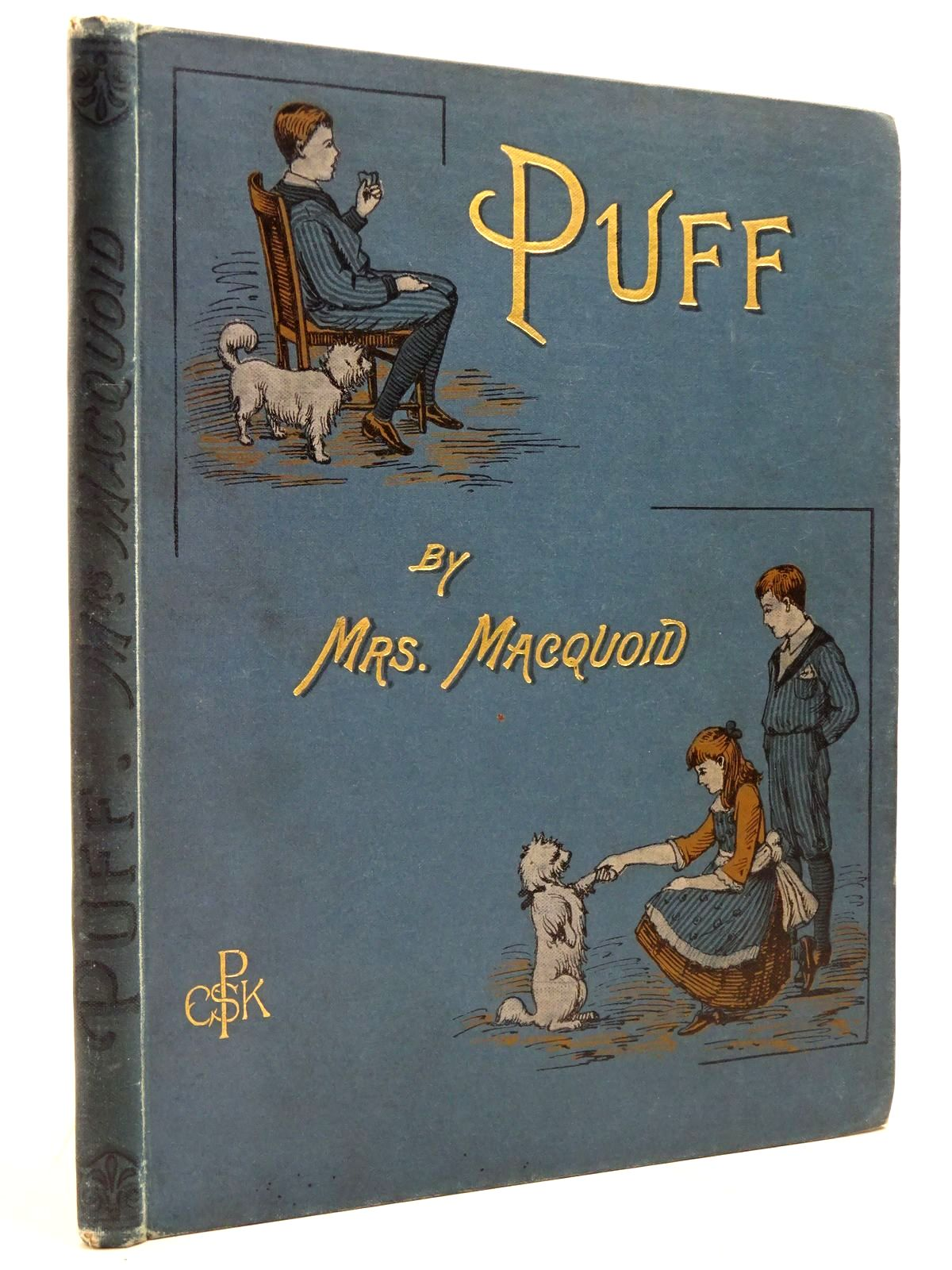 Photo of PUFF AN AUTOBIOGRAPHY written by Macquoid, Katharine illustrated by Morgan, W.J. published by Society for Promoting Christian Knowledge (STOCK CODE: 2131054)  for sale by Stella & Rose's Books
