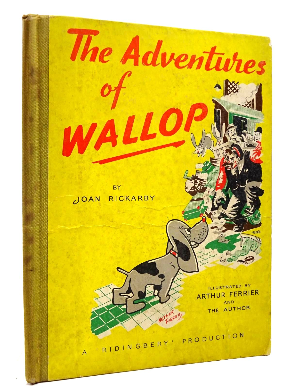 Photo of THE ADVENTURES OF WALLOP written by Rickarby, Joan illustrated by Ferrier, Arthur