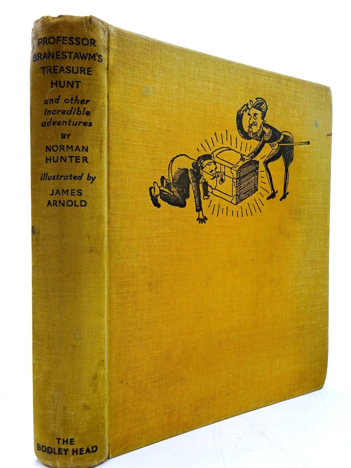 Photo of PROFESSOR BRANESTAWM'S TREASURE HUNT written by Hunter, Norman illustrated by Arnold, James published by John Lane The Bodley Head (STOCK CODE: 2131064)  for sale by Stella & Rose's Books