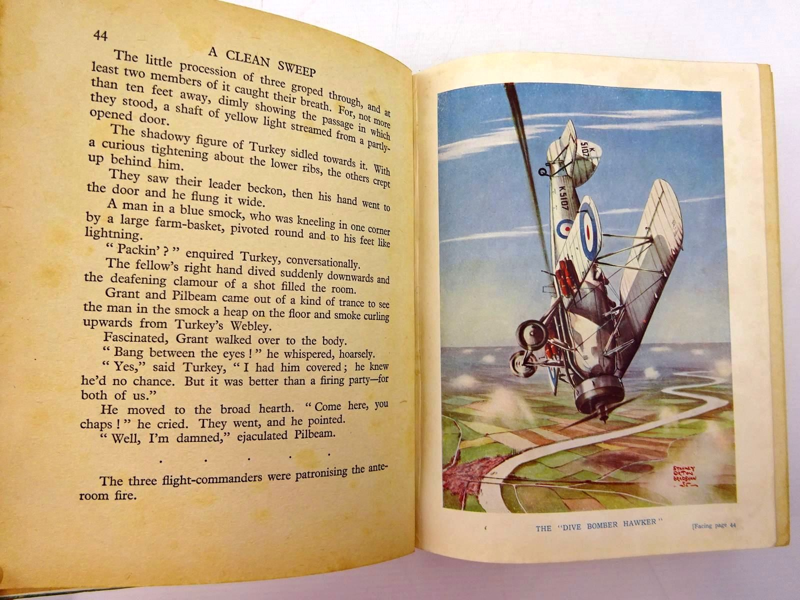Photo of FLYING ADVENTURES written by Johns, W.E. Rochester, George E. et al,  illustrated by Leigh, Howard Bradshaw, Stanley Orton et al.,  published by John Hamilton (STOCK CODE: 2131067)  for sale by Stella & Rose's Books
