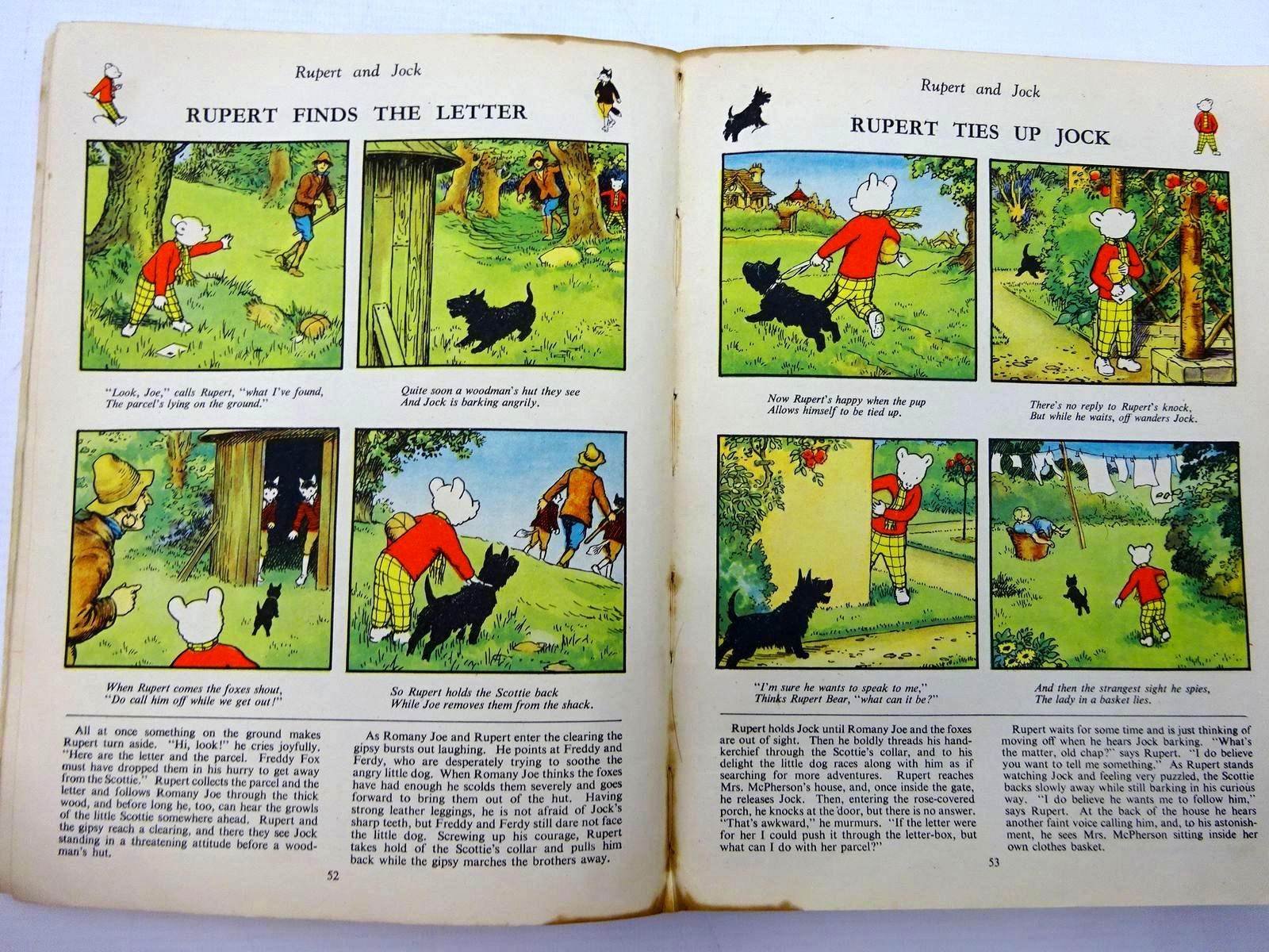 Photo of RUPERT ANNUAL 1945 - A NEW RUPERT BOOK written by Bestall, Alfred illustrated by Bestall, Alfred published by Daily Express (STOCK CODE: 2131073)  for sale by Stella & Rose's Books