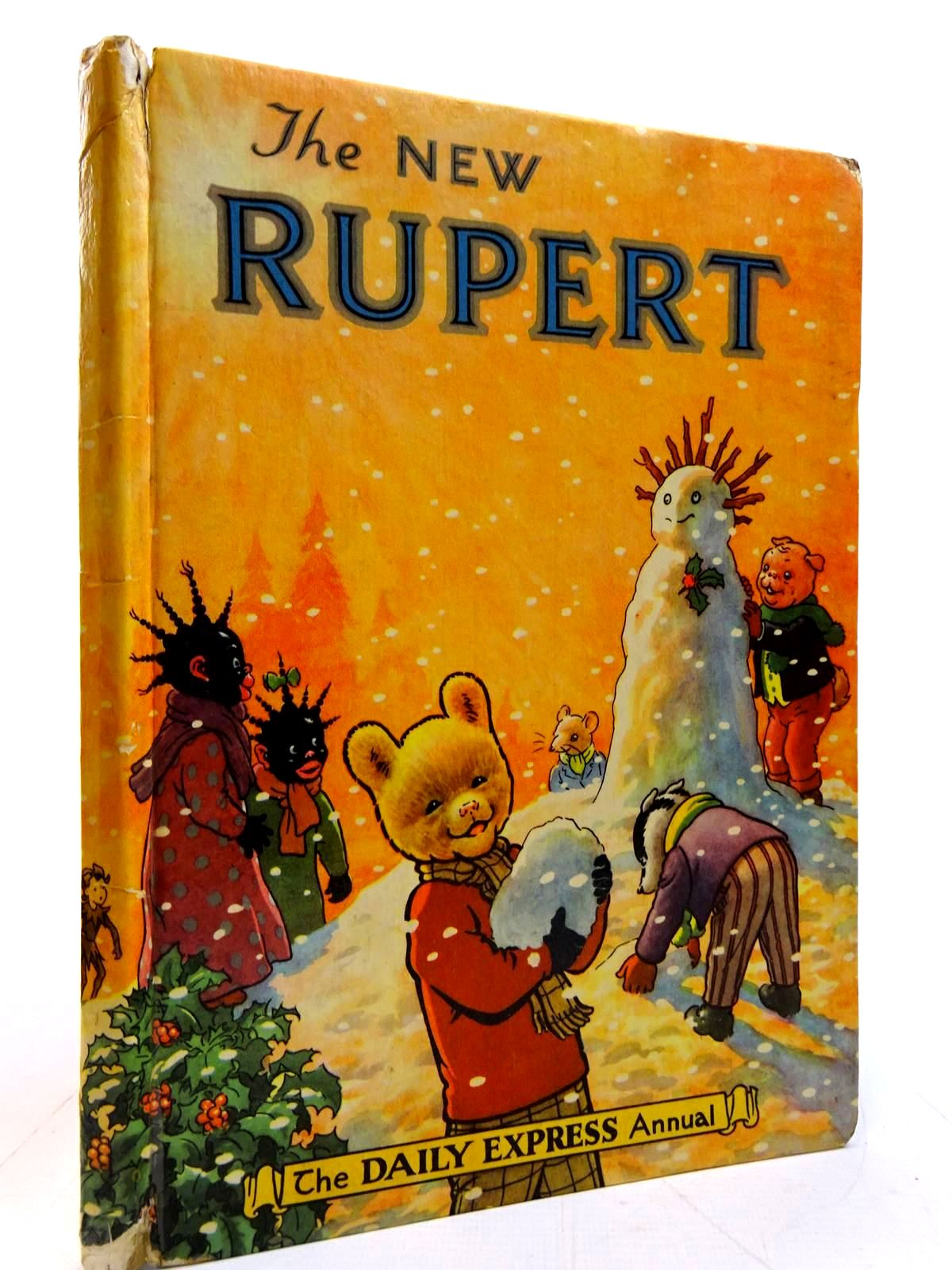 Photo of RUPERT ANNUAL 1954 - THE NEW RUPERT written by Bestall, Alfred illustrated by Bestall, Alfred published by Daily Express (STOCK CODE: 2131074)  for sale by Stella & Rose's Books