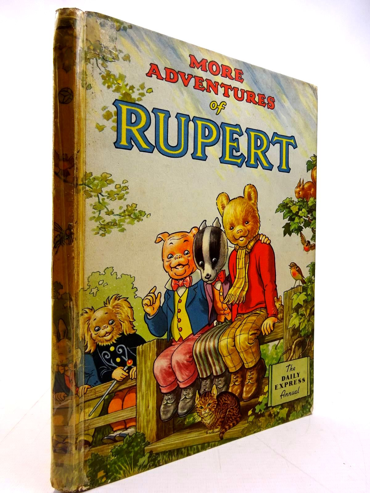 Photo of RUPERT ANNUAL 1953 - MORE ADVENTURES OF RUPERT- Stock Number: 2131075