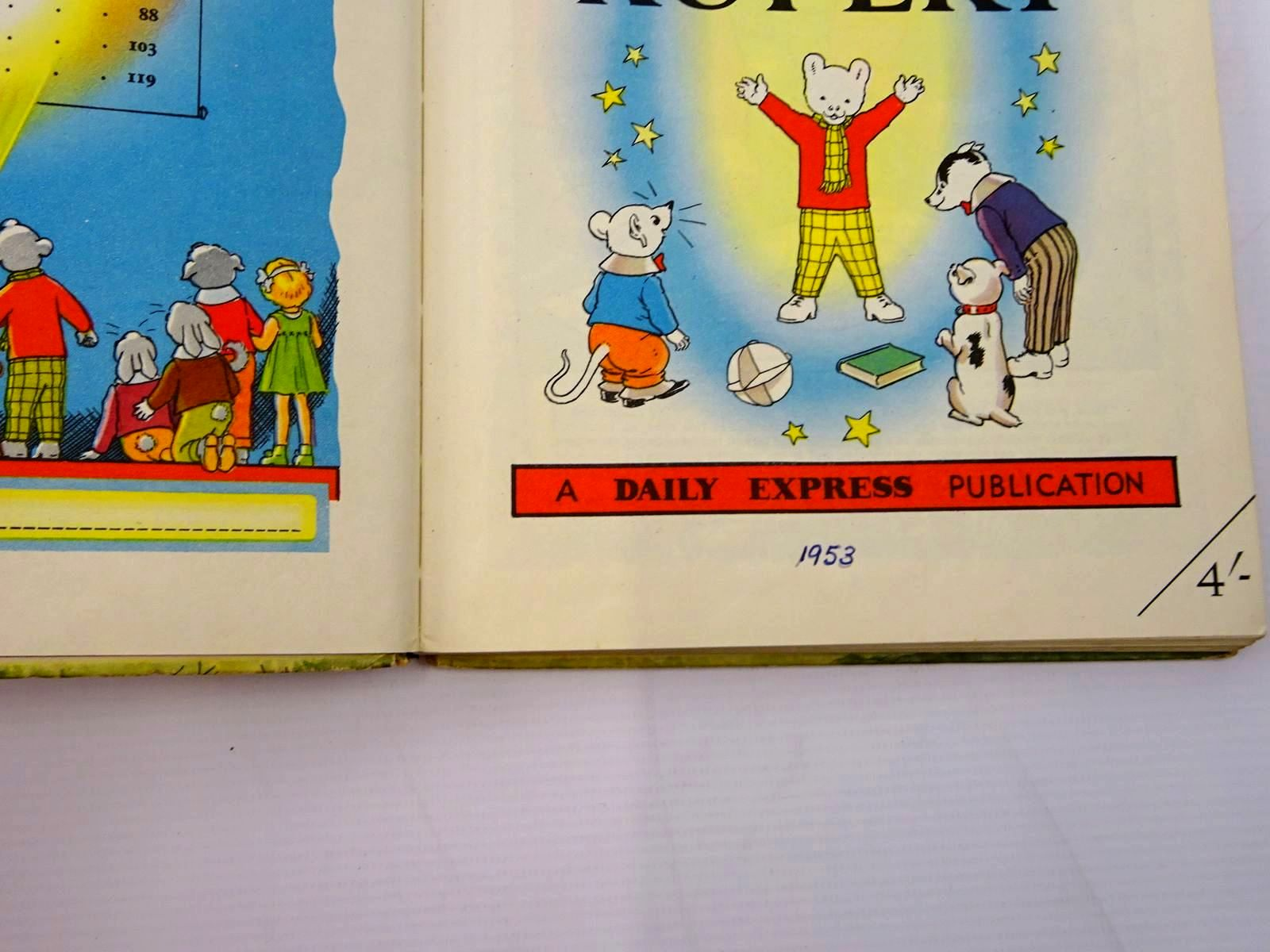 Photo of RUPERT ANNUAL 1953 - MORE ADVENTURES OF RUPERT written by Bestall, Alfred illustrated by Bestall, Alfred published by Daily Express (STOCK CODE: 2131075)  for sale by Stella & Rose's Books