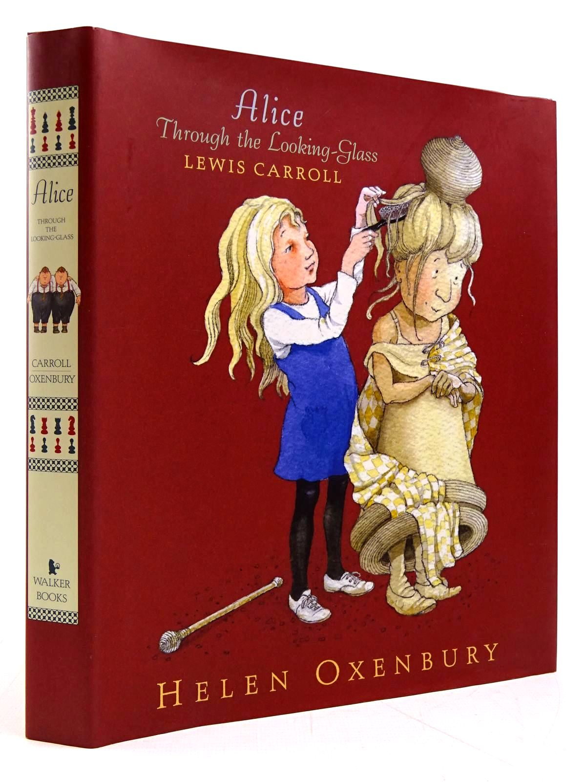 Photo of ALICE THROUGH THE LOOKING-GLASS written by Carroll, Lewis illustrated by Oxenbury, Helen published by Walker Books (STOCK CODE: 2131131)  for sale by Stella & Rose's Books