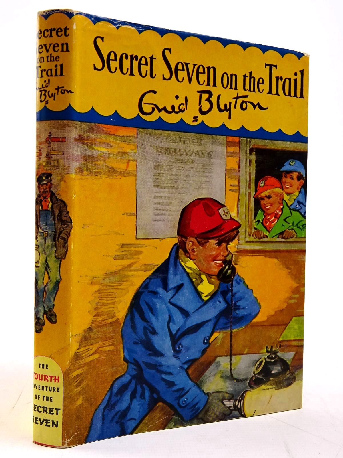 Photo of SECRET SEVEN ON THE TRAIL written by Blyton, Enid illustrated by Brook, George published by Brockhampton Press (STOCK CODE: 2131134)  for sale by Stella & Rose's Books