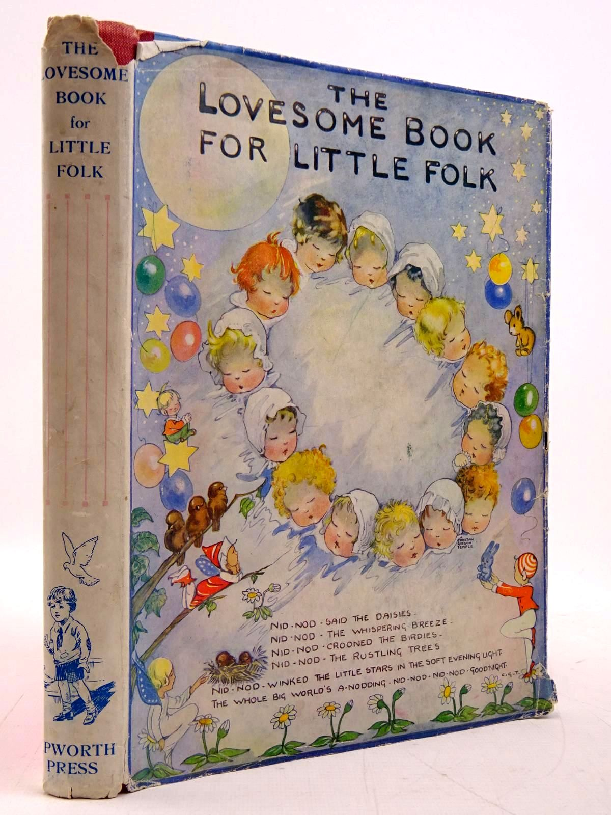Photo of THE LOVESOME BOOK FOR LITTLE FOLK- Stock Number: 2131159