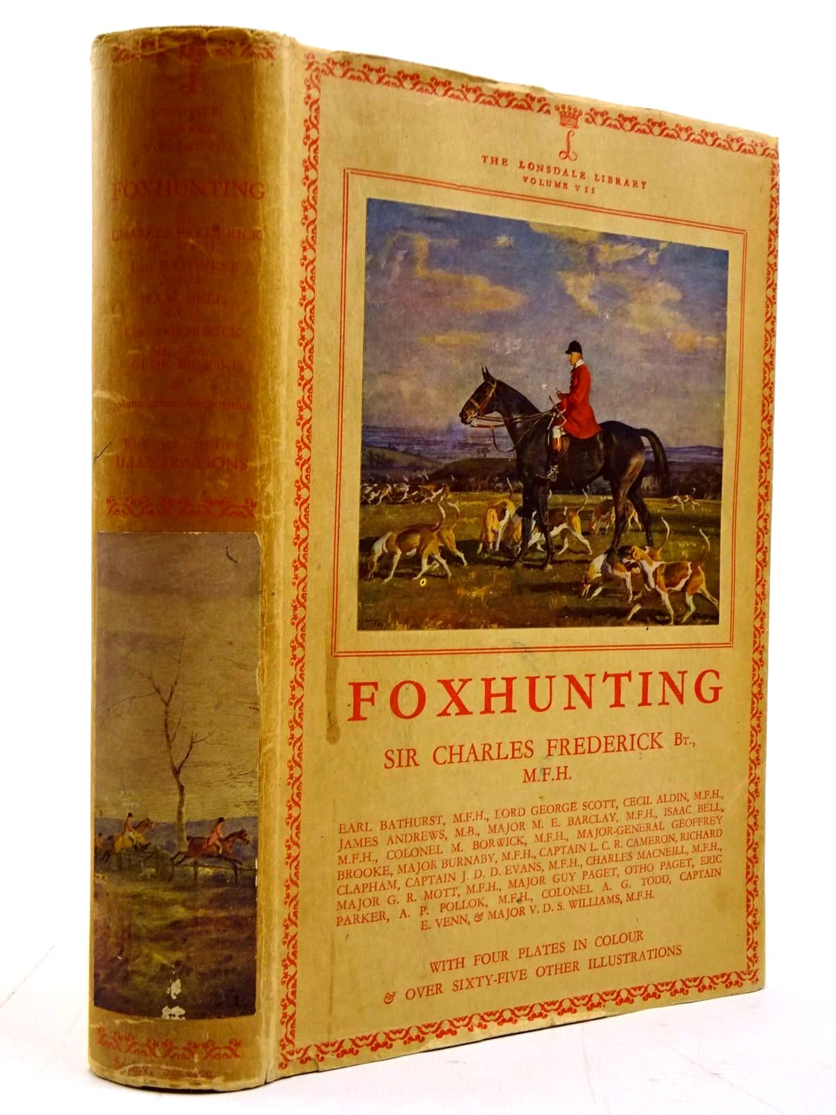 Photo of FOX-HUNTING written by Frederick, Charles illustrated by Aldin, Cecil et al.,  published by Seeley, Service & Co. (STOCK CODE: 2131175)  for sale by Stella & Rose's Books