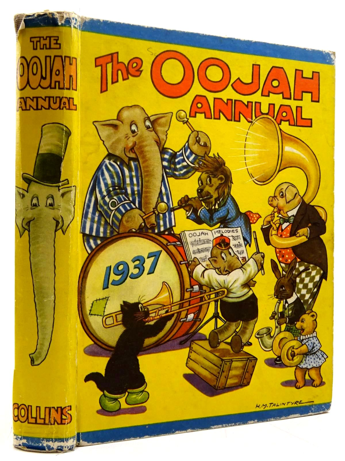 Photo of THE OOJAH ANNUAL 1937- Stock Number: 2131183
