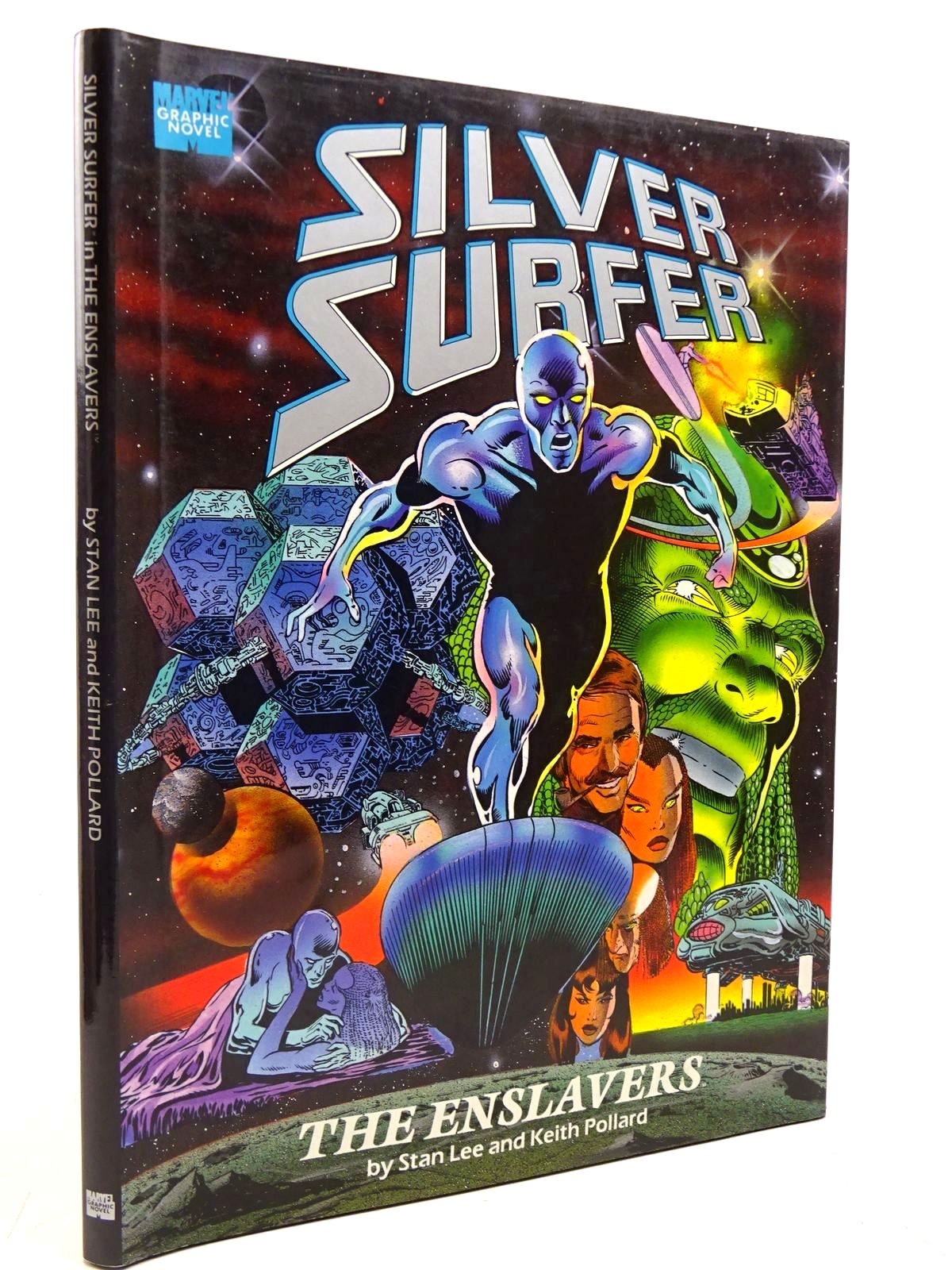 Photo of SILVER SURFER THE ENSLAVERS written by Lee, Stan<br />Pollard, Keith published by Marvel Comics Group (STOCK CODE: 2131200)  for sale by Stella & Rose's Books