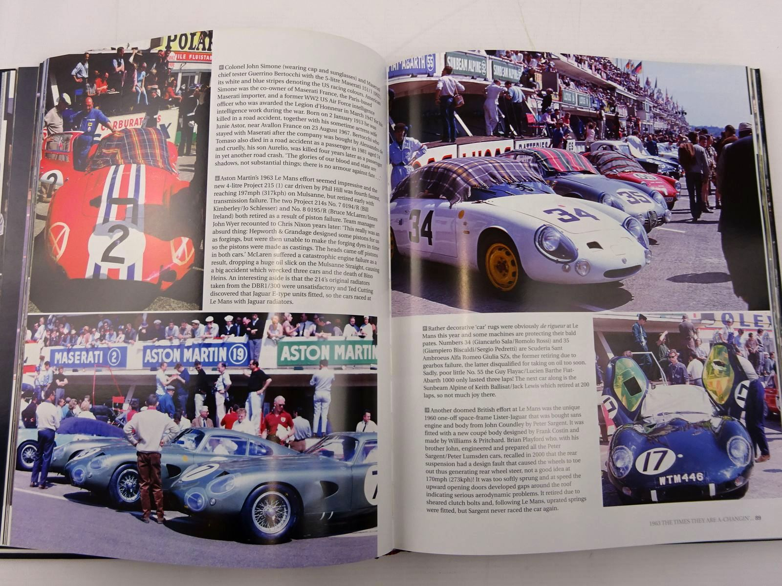 Photo of SPORTS CAR RACING IN CAMERA 1960-69 written by Parker, Paul published by Haynes (STOCK CODE: 2131229)  for sale by Stella & Rose's Books