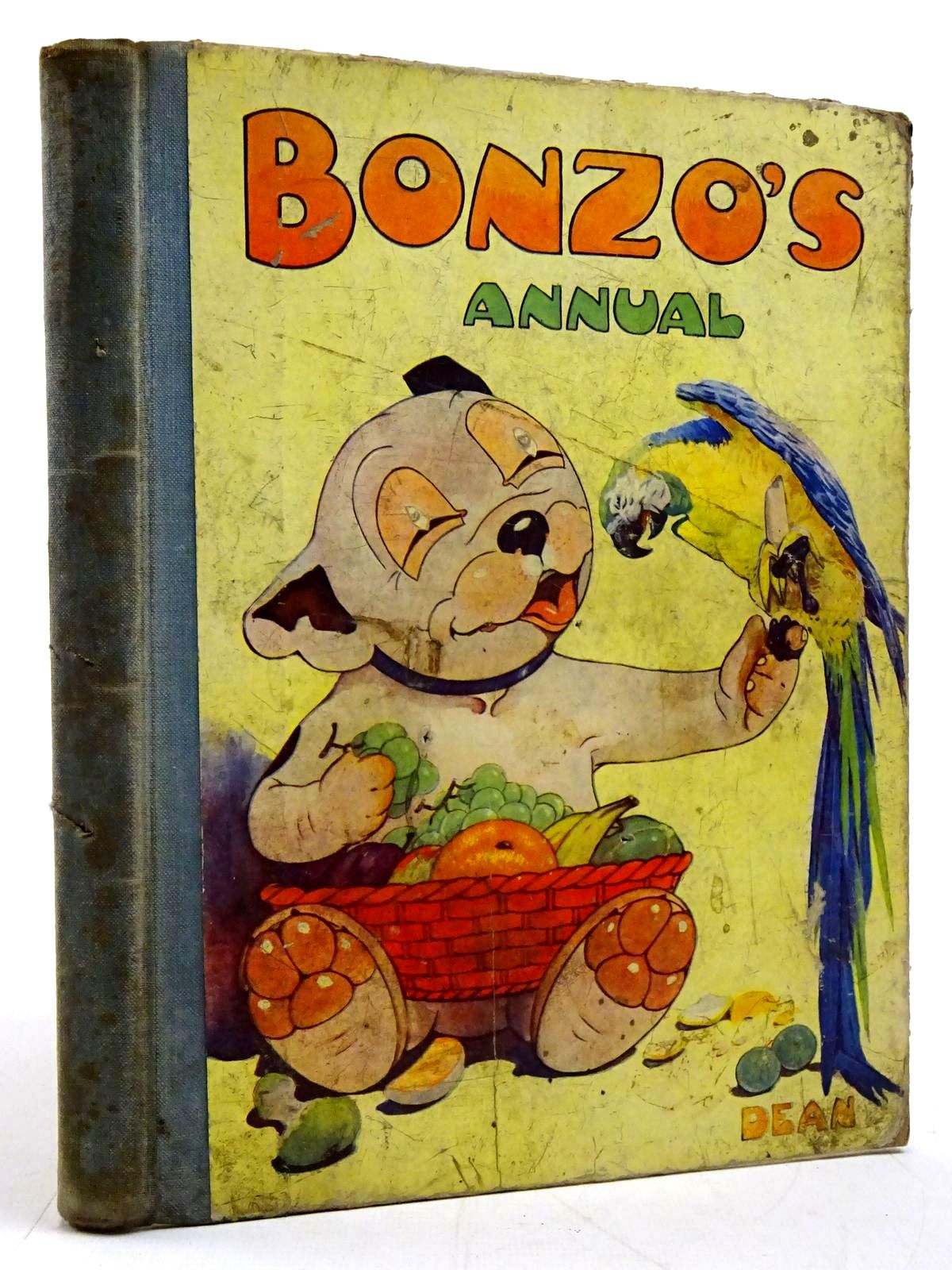 Photo of BONZO'S ANNUAL 1950 written by Bradley, Christine E. illustrated by Studdy, G.E. published by Dean & Son Ltd. (STOCK CODE: 2131249)  for sale by Stella & Rose's Books