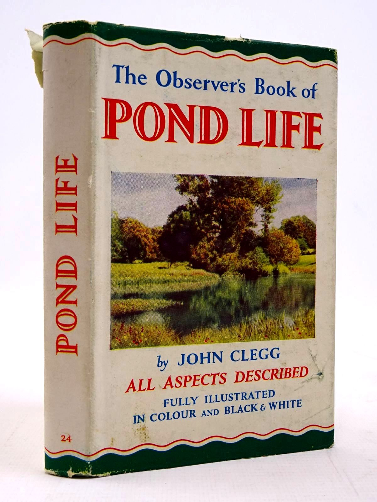 Photo of THE OBSERVER'S BOOK OF POND LIFE- Stock Number: 2131260