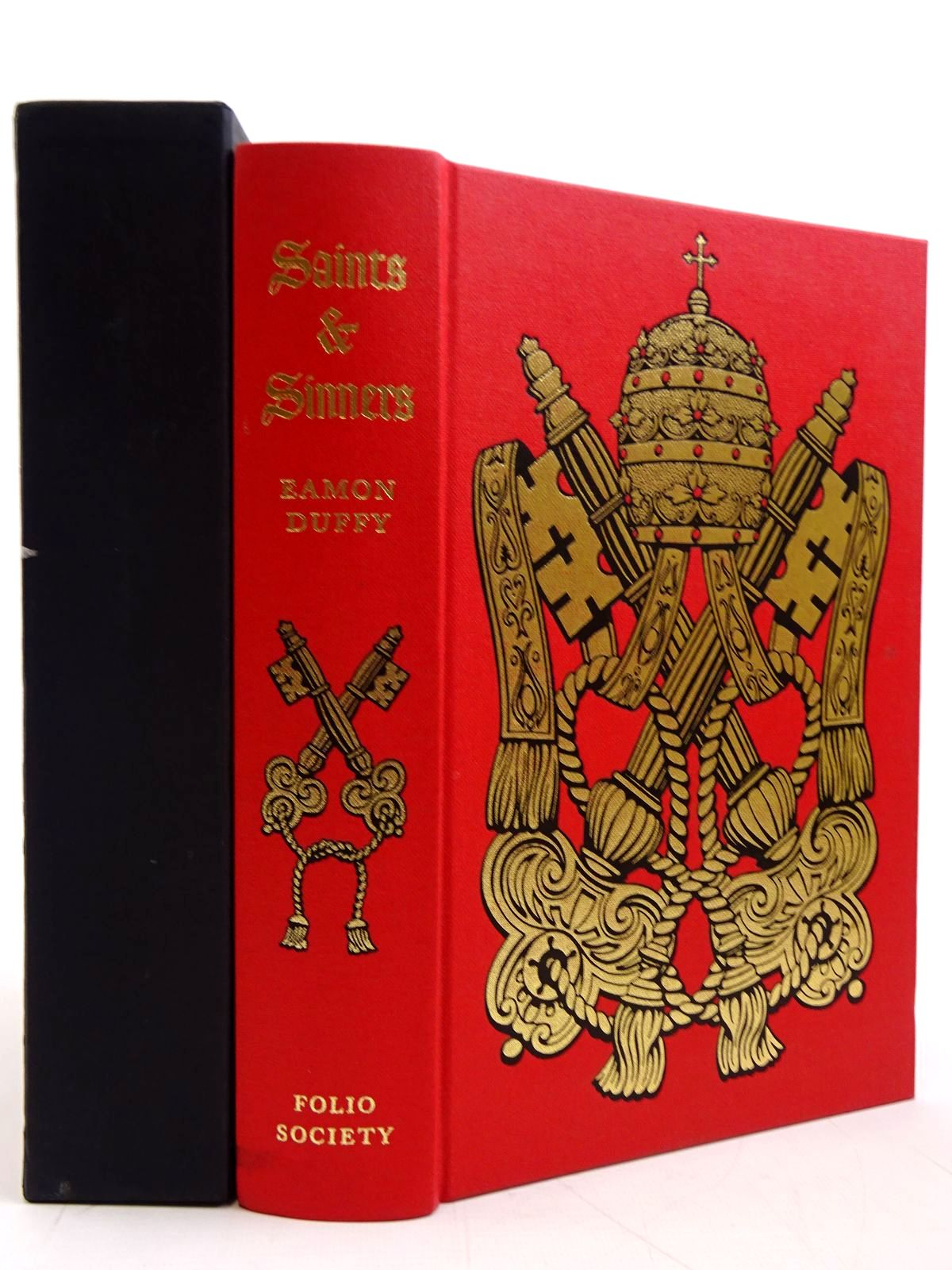 Photo of SAINTS & SINNERS: A HISTORY OF THE POPES written by Duffy, Eamon published by Folio Society (STOCK CODE: 2131291)  for sale by Stella & Rose's Books