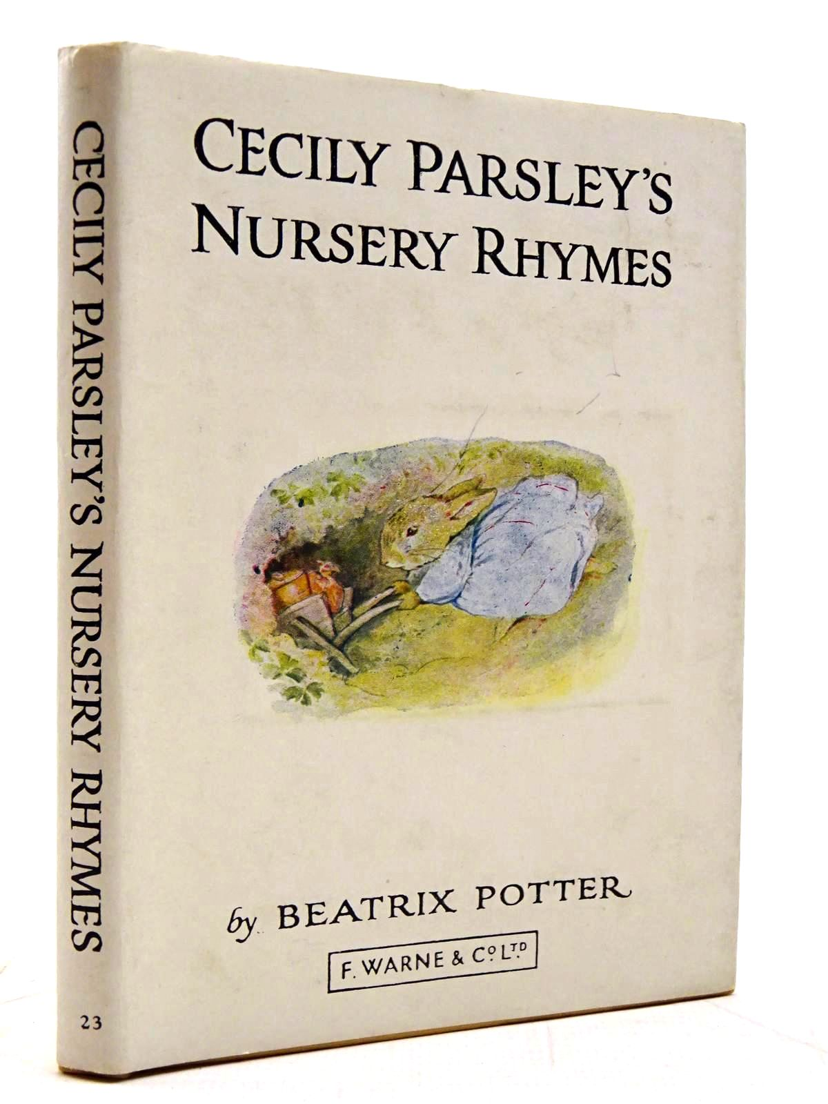 Photo of CECILY PARSLEY'S NURSERY RHYMES written by Potter, Beatrix illustrated by Potter, Beatrix published by Frederick Warne & Co Ltd. (STOCK CODE: 2131307)  for sale by Stella & Rose's Books
