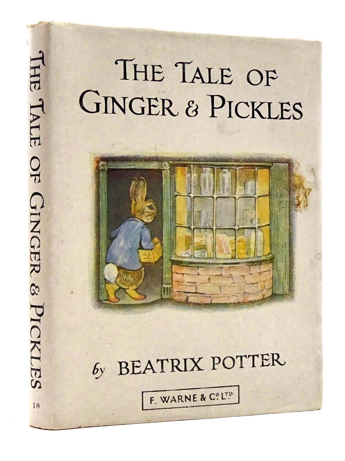 Photo of THE TALE OF GINGER & PICKLES written by Potter, Beatrix illustrated by Potter, Beatrix published by Frederick Warne & Co Ltd. (STOCK CODE: 2131309)  for sale by Stella & Rose's Books