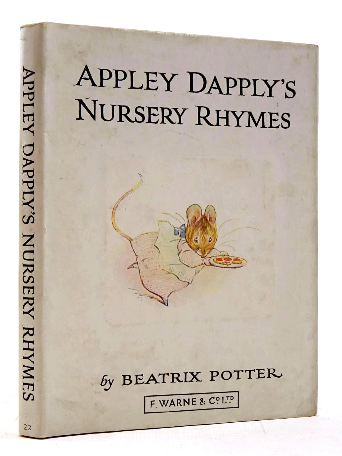 Photo of APPLEY DAPPLY'S NURSERY RHYMES written by Potter, Beatrix illustrated by Potter, Beatrix published by Frederick Warne & Co Ltd. (STOCK CODE: 2131311)  for sale by Stella & Rose's Books