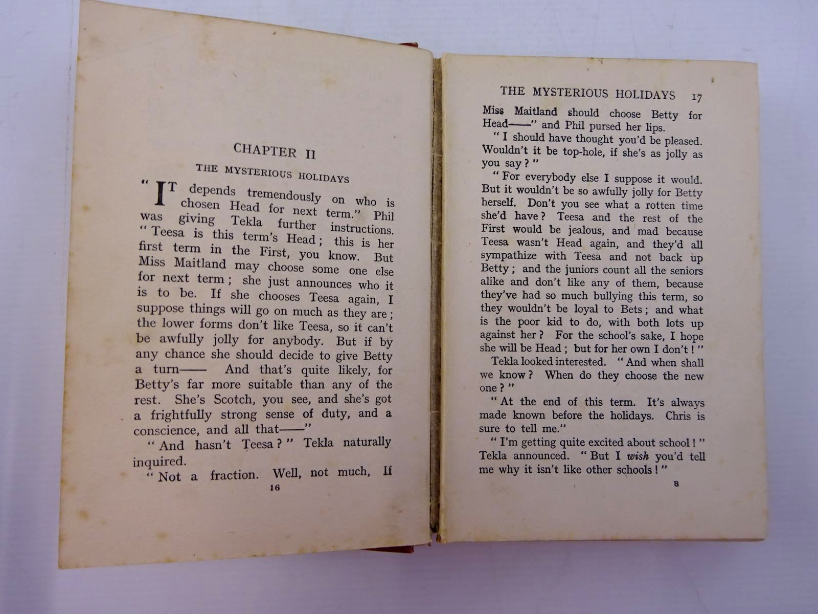 Photo of TICKLES OR THE SCHOOL THAT WAS DIFFERENT written by Oxenham, Elsie J. published by S.W. Partridge & Co. Ltd. (STOCK CODE: 2131324)  for sale by Stella & Rose's Books