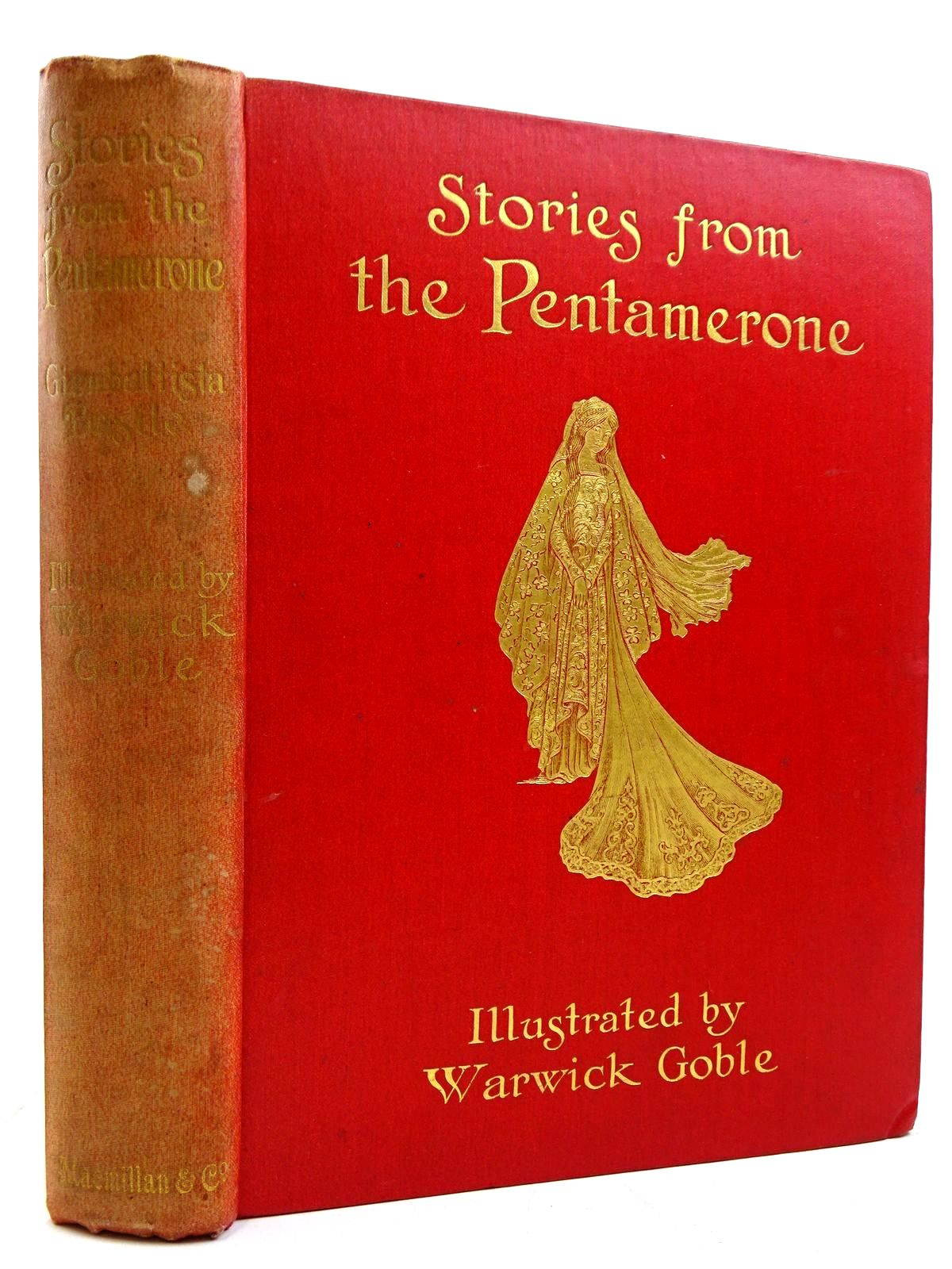 Photo of STORIES FROM THE PENTAMERONE written by Basile, Giambattista illustrated by Goble, Warwick published by Macmillan & Co. Ltd. (STOCK CODE: 2131325)  for sale by Stella & Rose's Books
