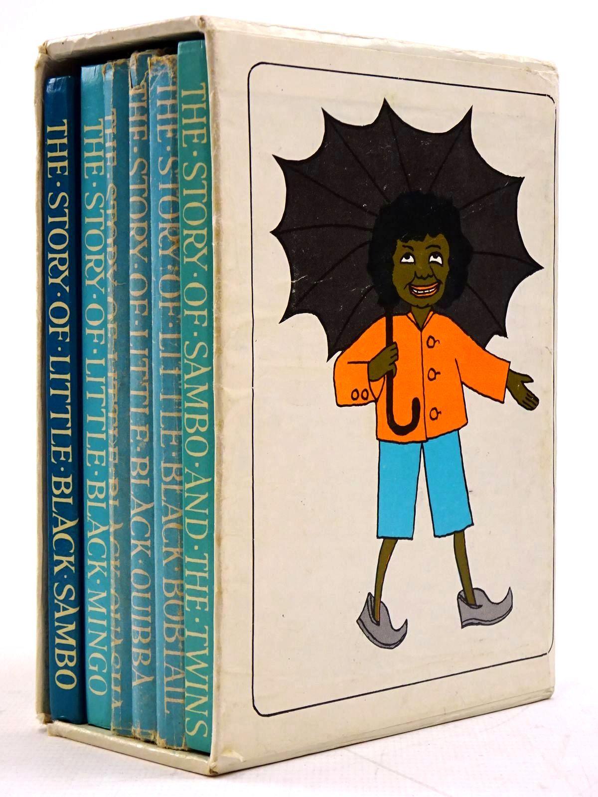 Photo of THE LITTLE BLACK SAMBO BOOKS (6 VOLUMES) written by Bannerman, Helen illustrated by Bannerman, Helen published by Chatto & Windus (STOCK CODE: 2131328)  for sale by Stella & Rose's Books