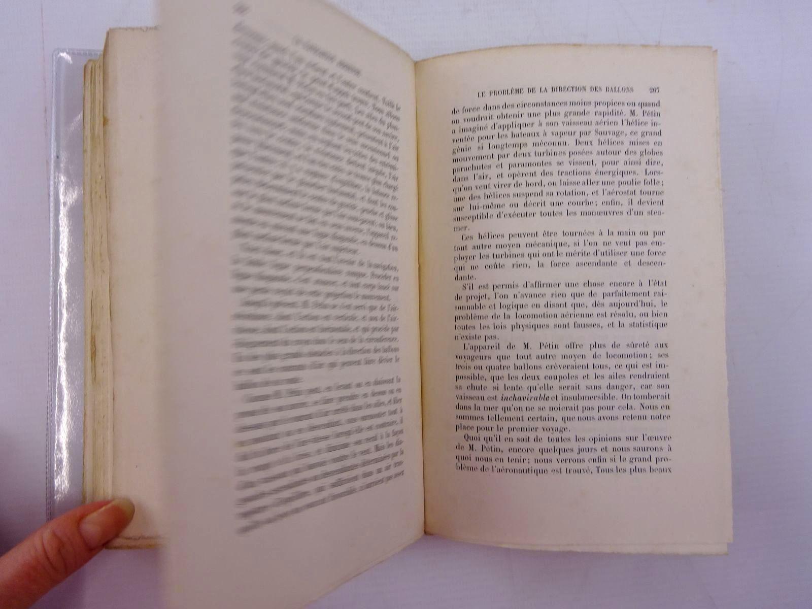 Photo of LA NAVIGATION AERIENNE L'AVIATION ET LA DIRECTION DES AEROSTATS written by Tissandier, Gaston published by Librairie Hachette Et Cie (STOCK CODE: 2131329)  for sale by Stella & Rose's Books