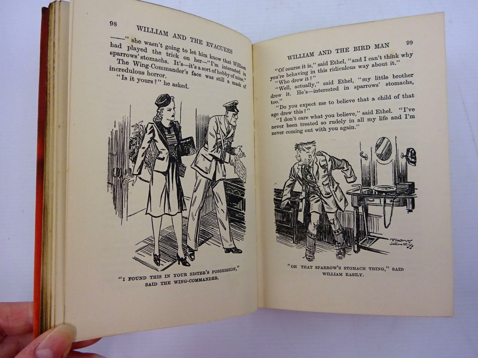 Photo of WILLIAM AND THE EVACUEES written by Crompton, Richmal illustrated by Henry, Thomas published by George Newnes Ltd. (STOCK CODE: 2131345)  for sale by Stella & Rose's Books