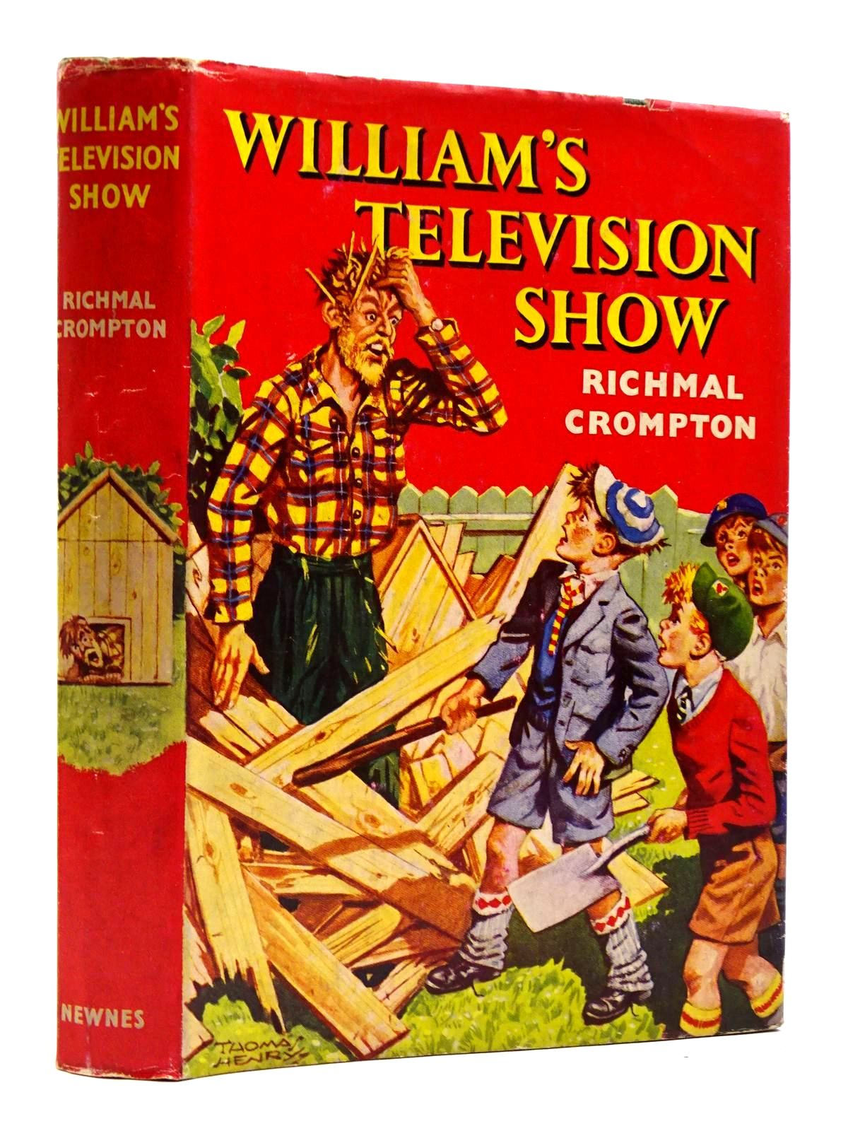 Photo of WILLIAM'S TELEVISION SHOW written by Crompton, Richmal illustrated by Henry, Thomas published by George Newnes Limited (STOCK CODE: 2131352)  for sale by Stella & Rose's Books