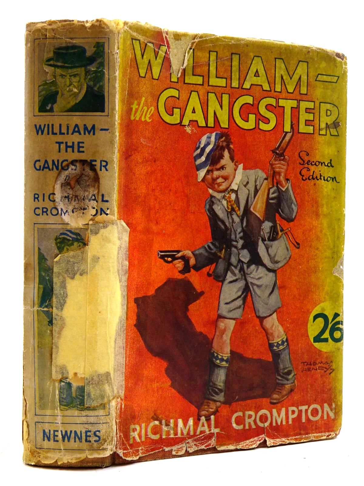 Photo of WILLIAM THE GANGSTER written by Crompton, Richmal illustrated by Henry, Thomas published by George Newnes Ltd. (STOCK CODE: 2131355)  for sale by Stella & Rose's Books