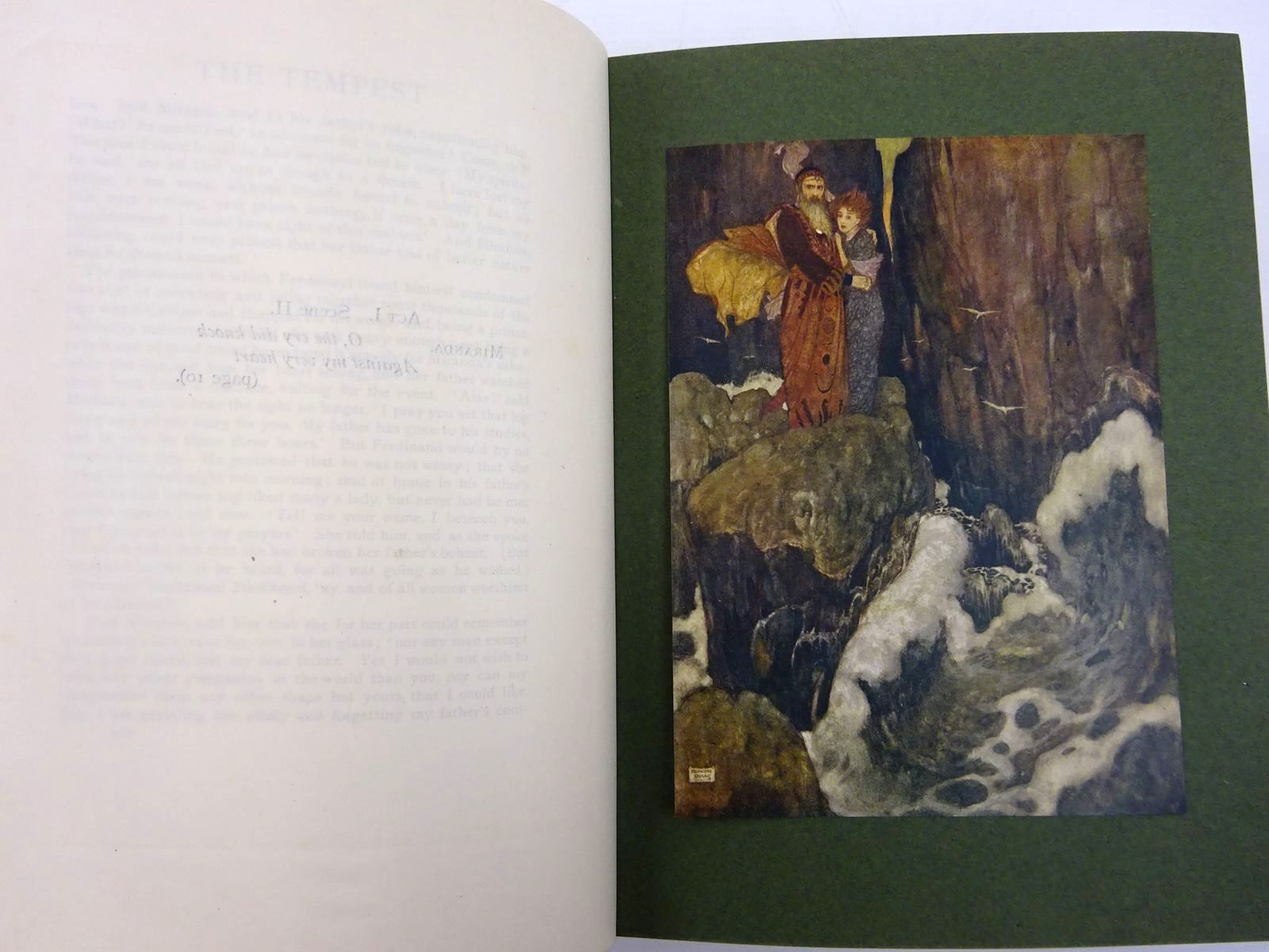 Photo of SHAKESPEARE'S COMEDY OF THE TEMPEST written by Shakespeare, William illustrated by Dulac, Edmund published by Hodder & Stoughton (STOCK CODE: 2131379)  for sale by Stella & Rose's Books