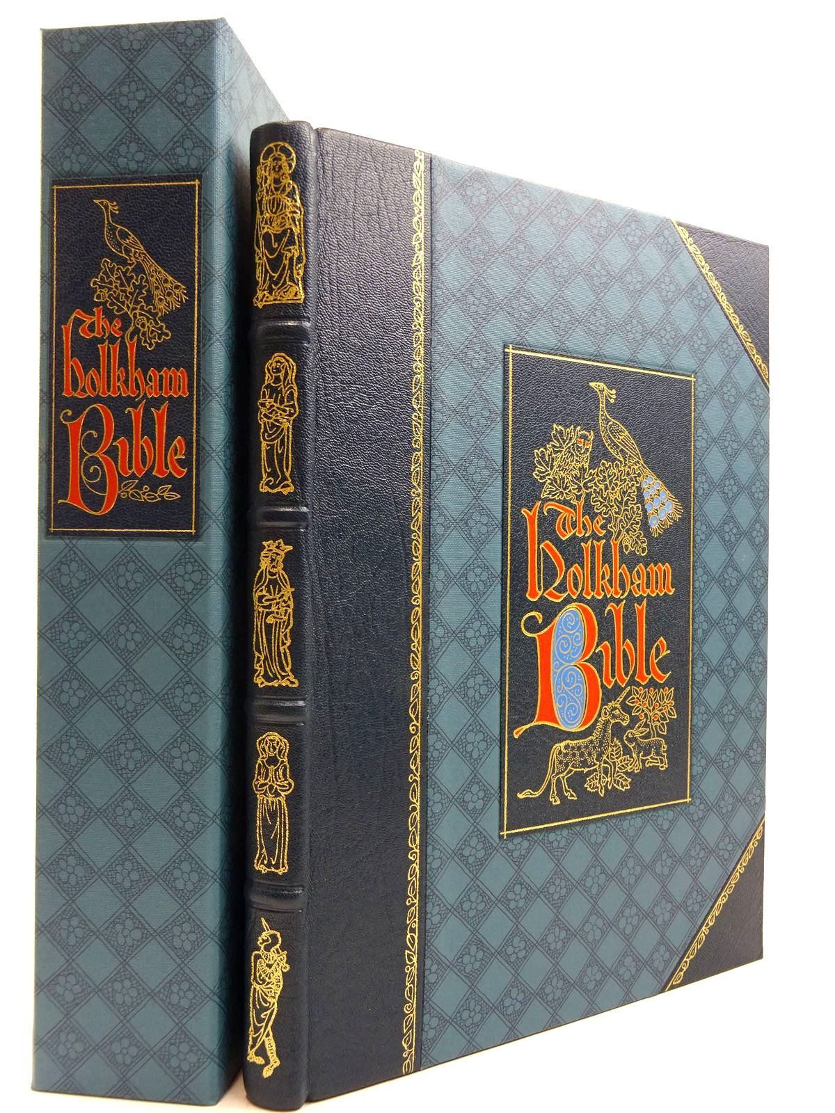 Photo of THE HOLKHAM BIBLE written by Brown, Michelle P. published by Folio Society (STOCK CODE: 2131381)  for sale by Stella & Rose's Books