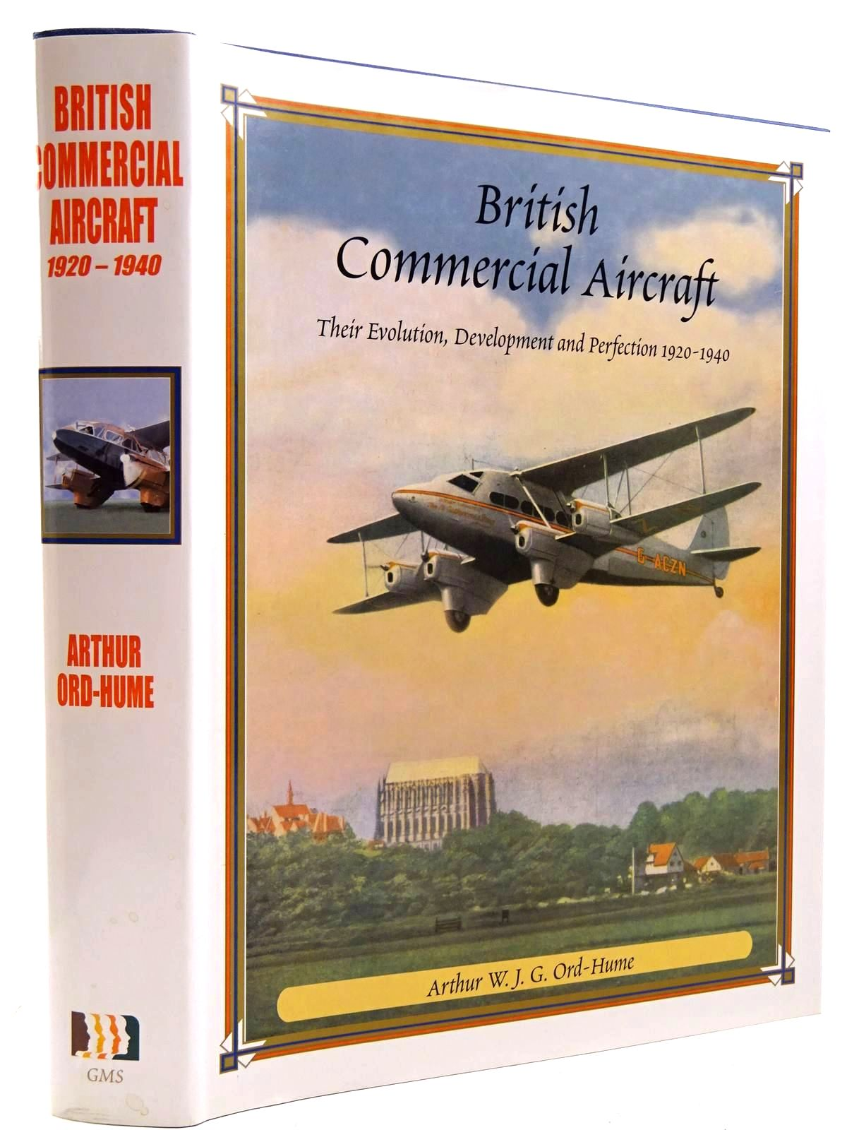 Photo of BRITISH COMMERCIAL AIRCRAFT THEIR EVOLUTION, DEVELOPMENT AND PERFECTION 1920-1940- Stock Number: 2131387