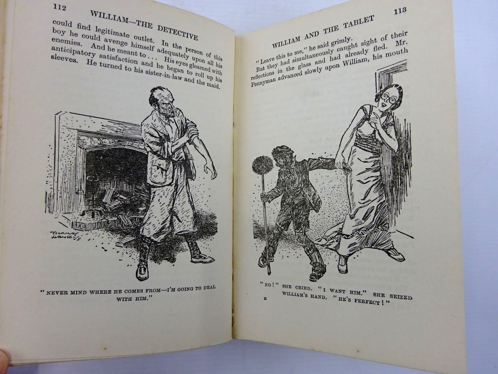Photo of WILLIAM THE DETECTIVE written by Crompton, Richmal illustrated by Henry, Thomas published by George Newnes Limited (STOCK CODE: 2131399)  for sale by Stella & Rose's Books