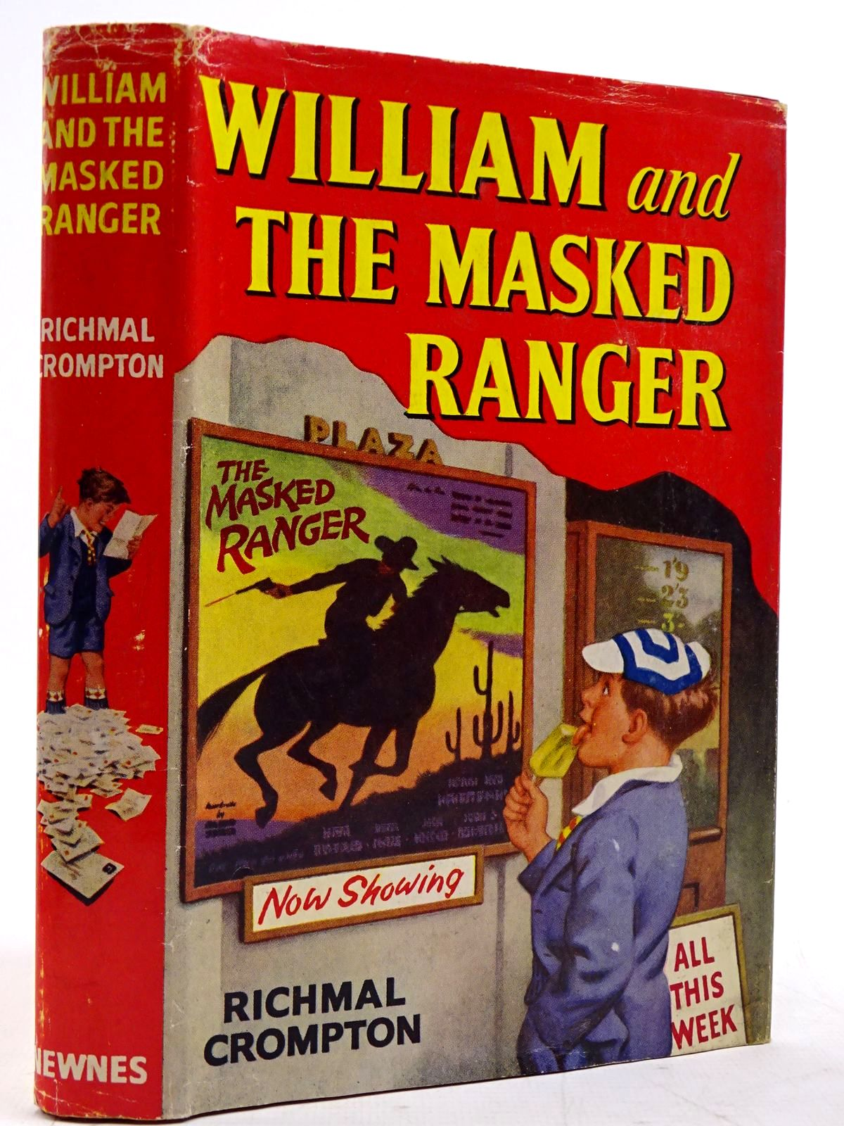 Photo of WILLIAM AND THE MASKED RANGER written by Crompton, Richmal illustrated by Ford, Henry published by George Newnes Ltd. (STOCK CODE: 2131420)  for sale by Stella & Rose's Books