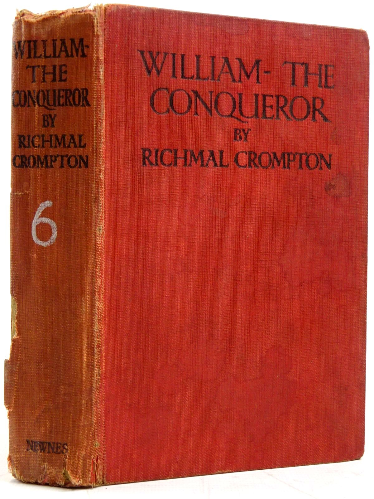 Photo of WILLIAM THE CONQUEROR written by Crompton, Richmal illustrated by Henry, Thomas published by George Newnes Limited (STOCK CODE: 2131423)  for sale by Stella & Rose's Books