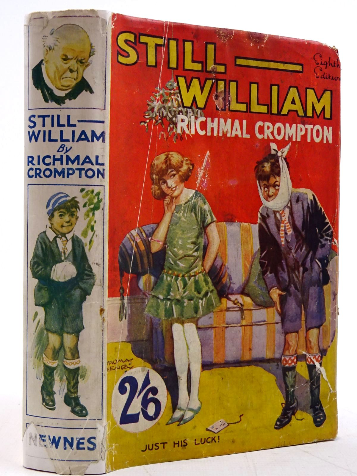 Photo of STILL WILLIAM written by Crompton, Richmal illustrated by Henry, Thomas published by George Newnes Limited (STOCK CODE: 2131424)  for sale by Stella & Rose's Books