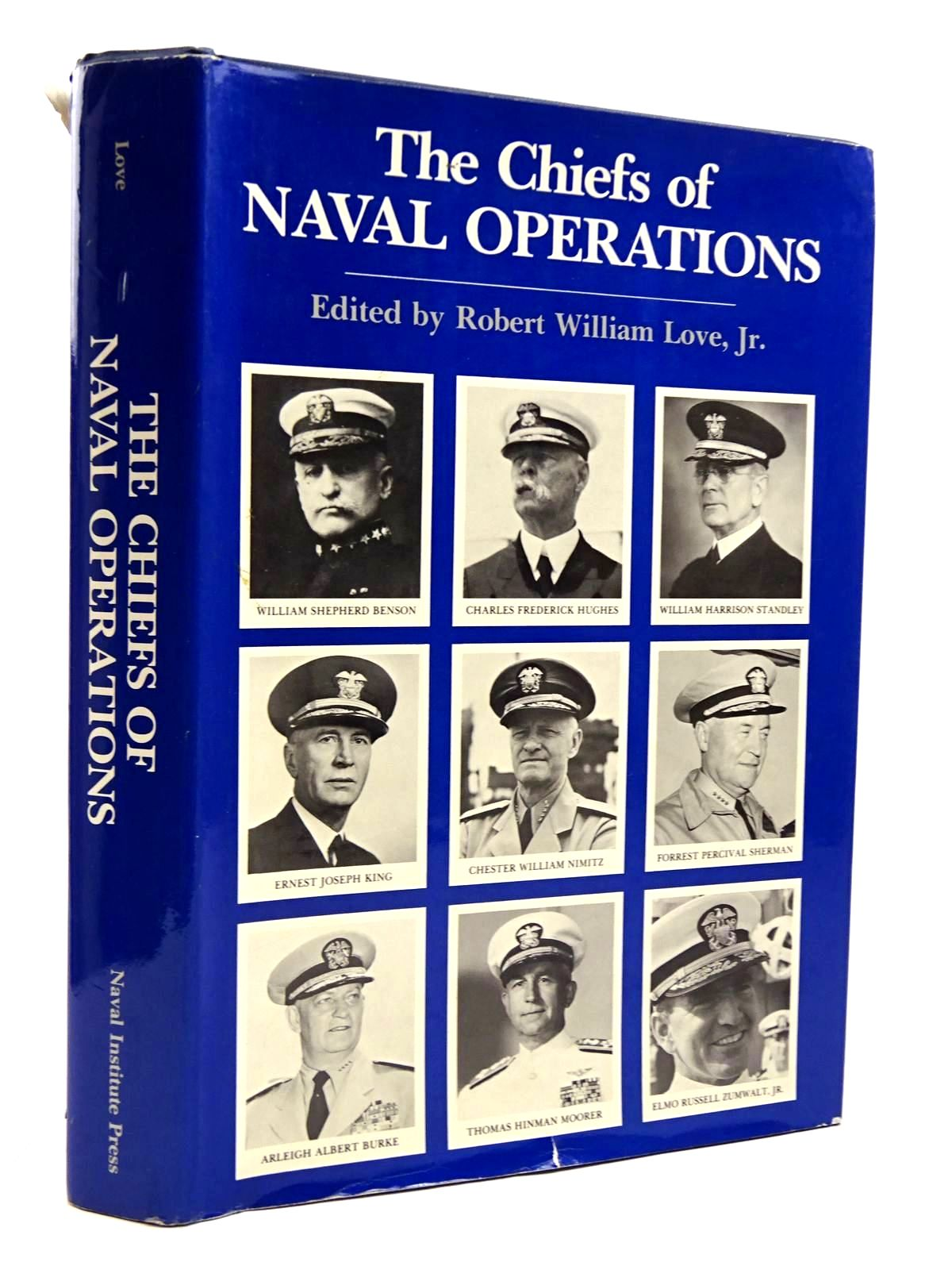 Photo of THE CHIEFS OF NAVAL OPERATIONS written by Love, Robert William published by Naval Institute Press (STOCK CODE: 2131459)  for sale by Stella & Rose's Books